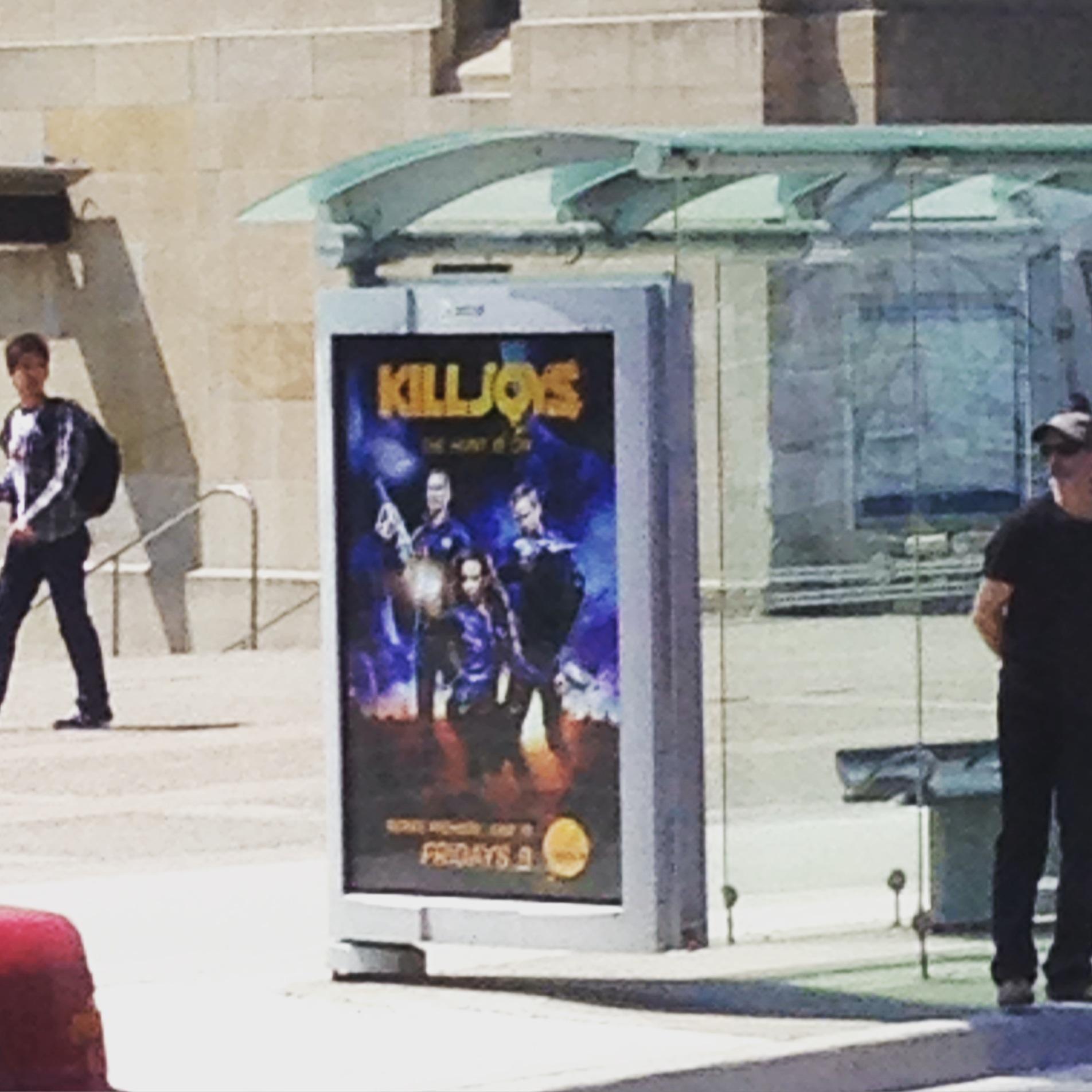 Killjoys bus shelter