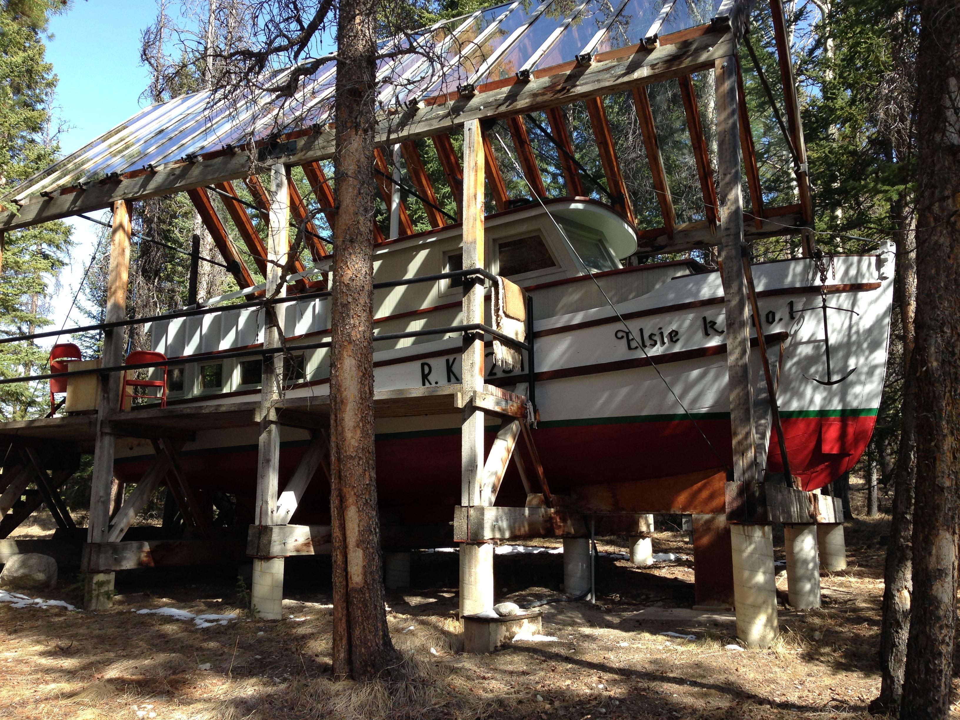 Life of Pi boat - Banff