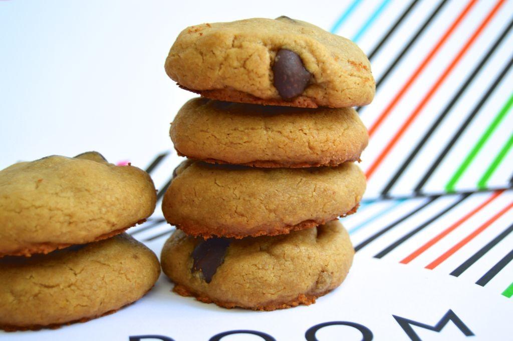 Peanut Butter, Cookies, Dark Chocolate, Recipe, Baking, Dessert