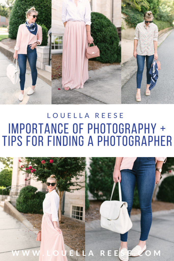 Blogger Photography Tips // Tips for Finding a Blog Photographer // Louella Reese Life & Style Blog