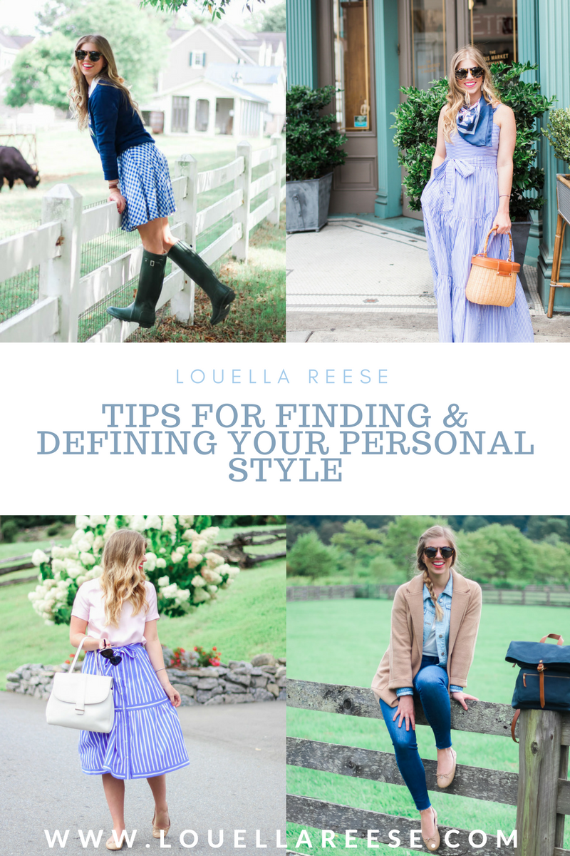 Tips for Finding Your Personal Style | Defining Personal Style | Louella Reese Life & Style Blog