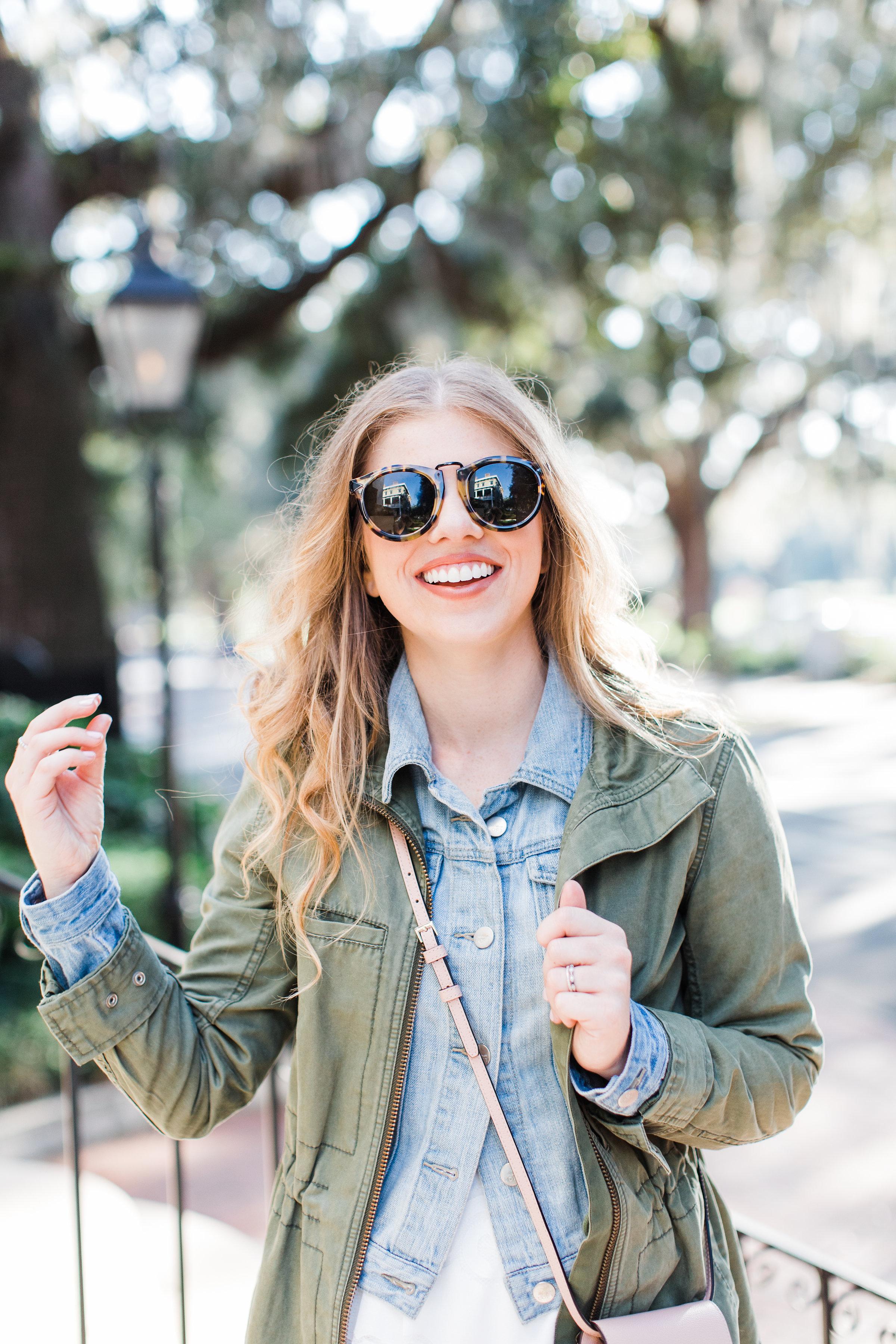 Fall Capsule Wardrobe | Midi Skirt for Fall | Louella Reese Life & Style Blog