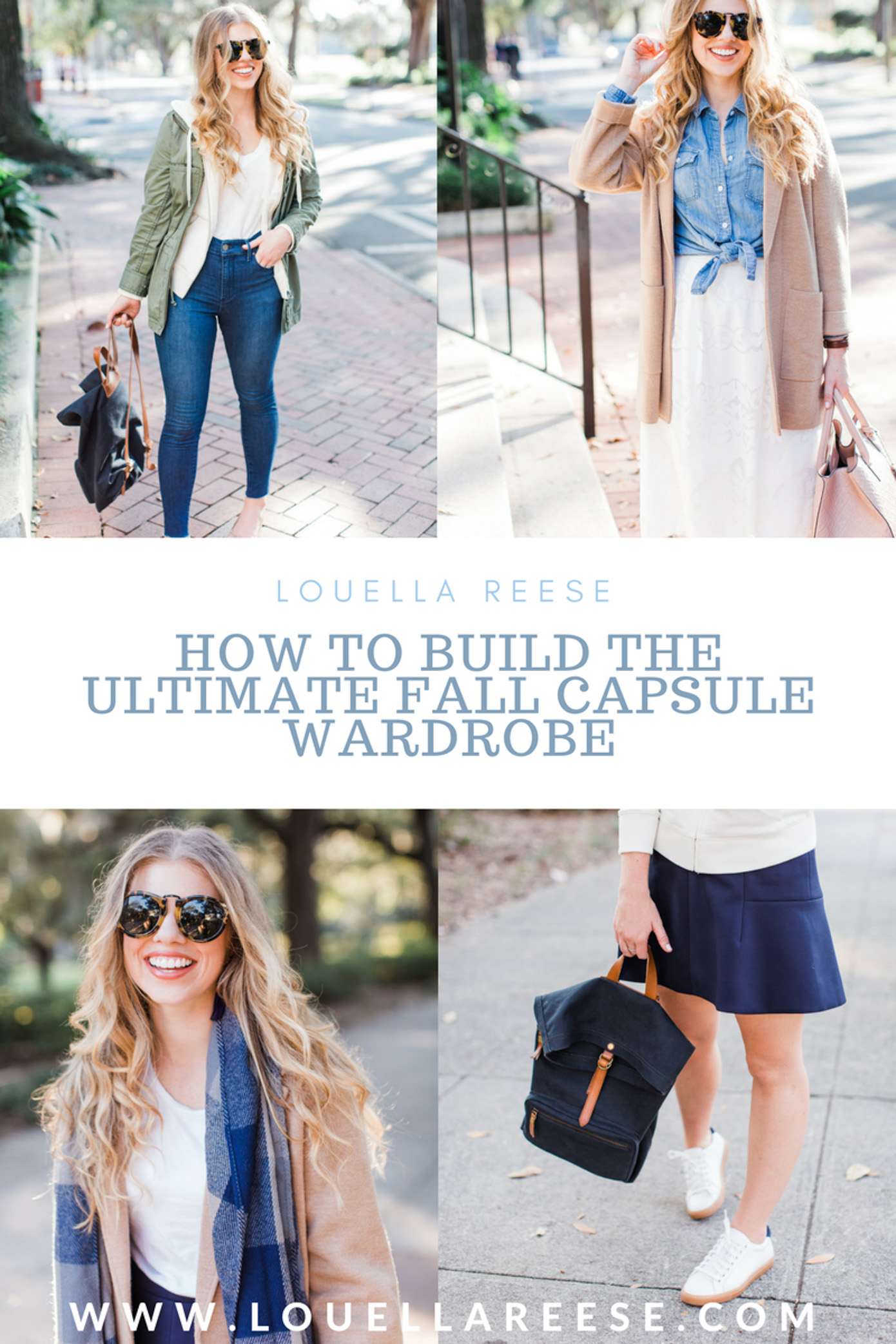 How to Build a Fall Capsule Wardrobe | Capsule Collection Tips | Louella Reese Life & Style Blog