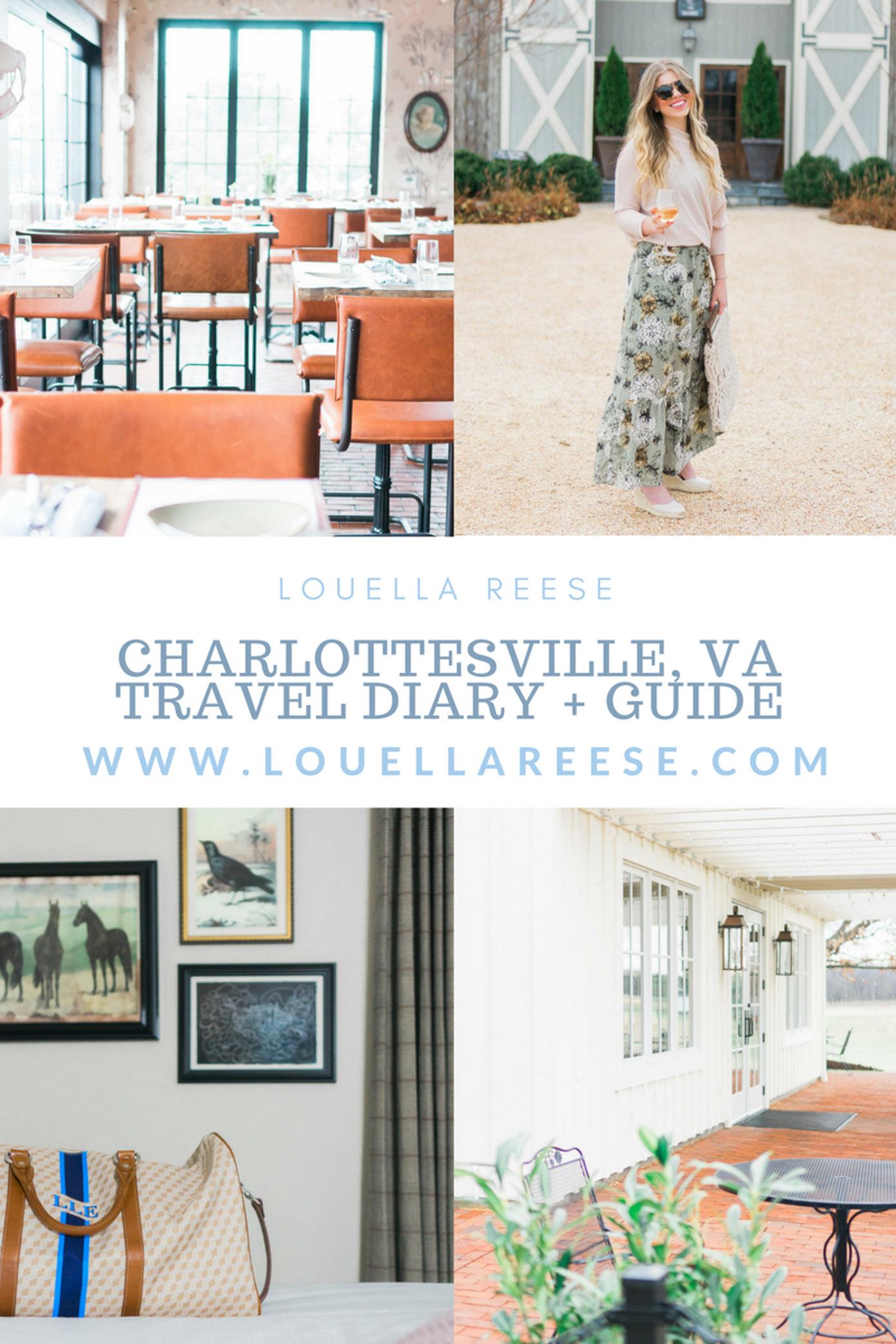 Charlottesville VA Travel Guide   Louella Reese Life & Style Blog