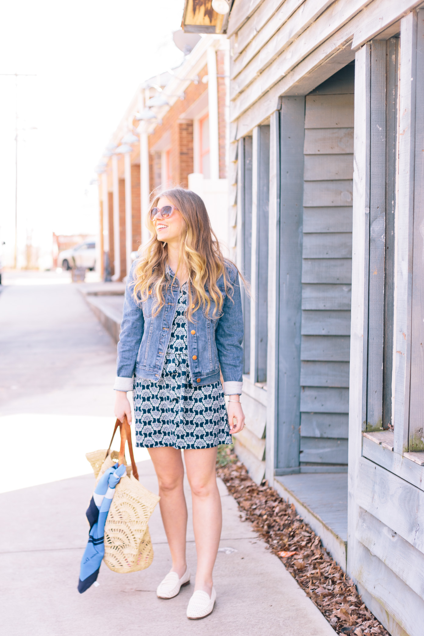 Casual Knit Dress for Spring | Louella Reese Life & Style Blog