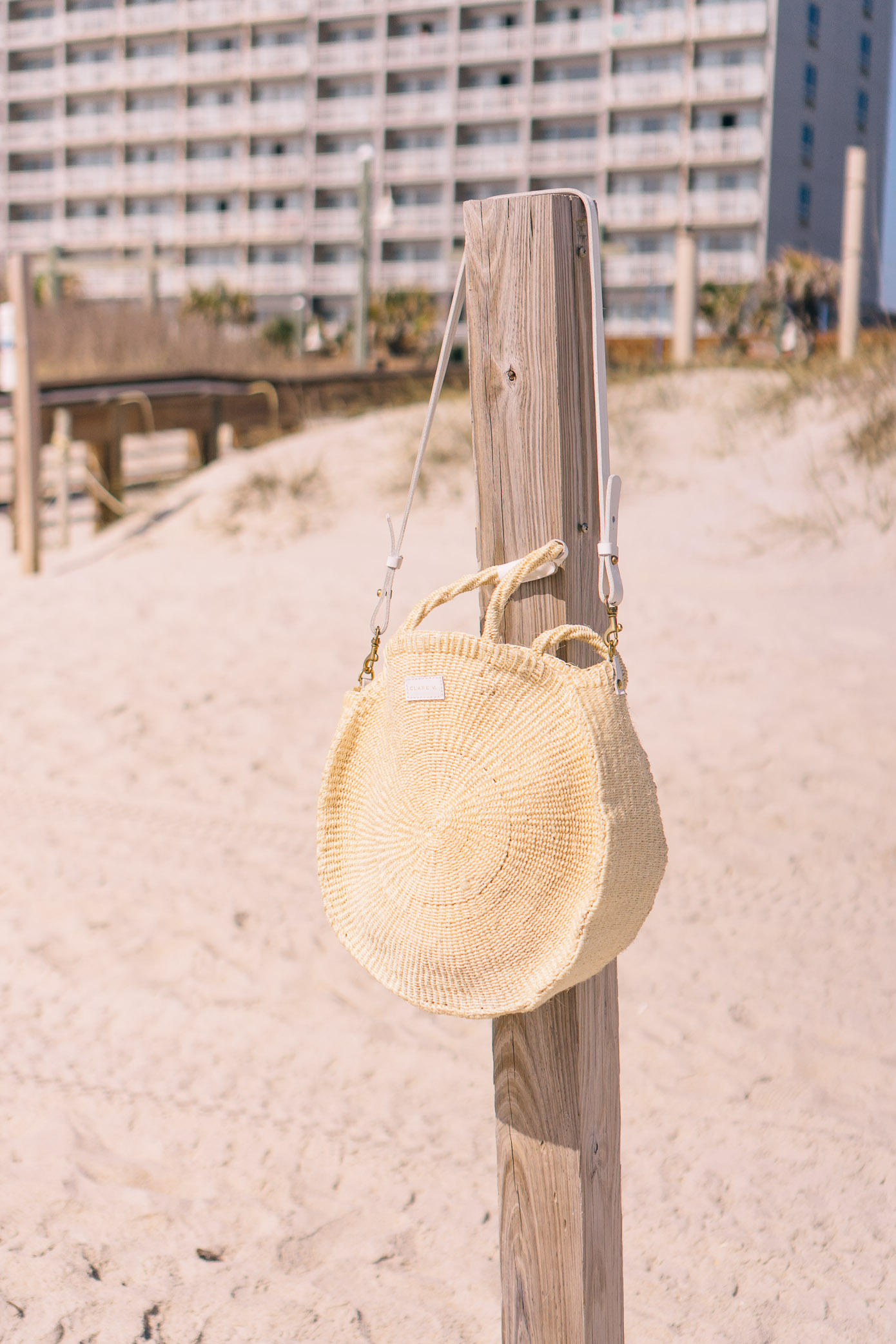 Clare V. Alice Tote | Straw Tote for Spring and Summer | Louella Reese Life & Style Blog