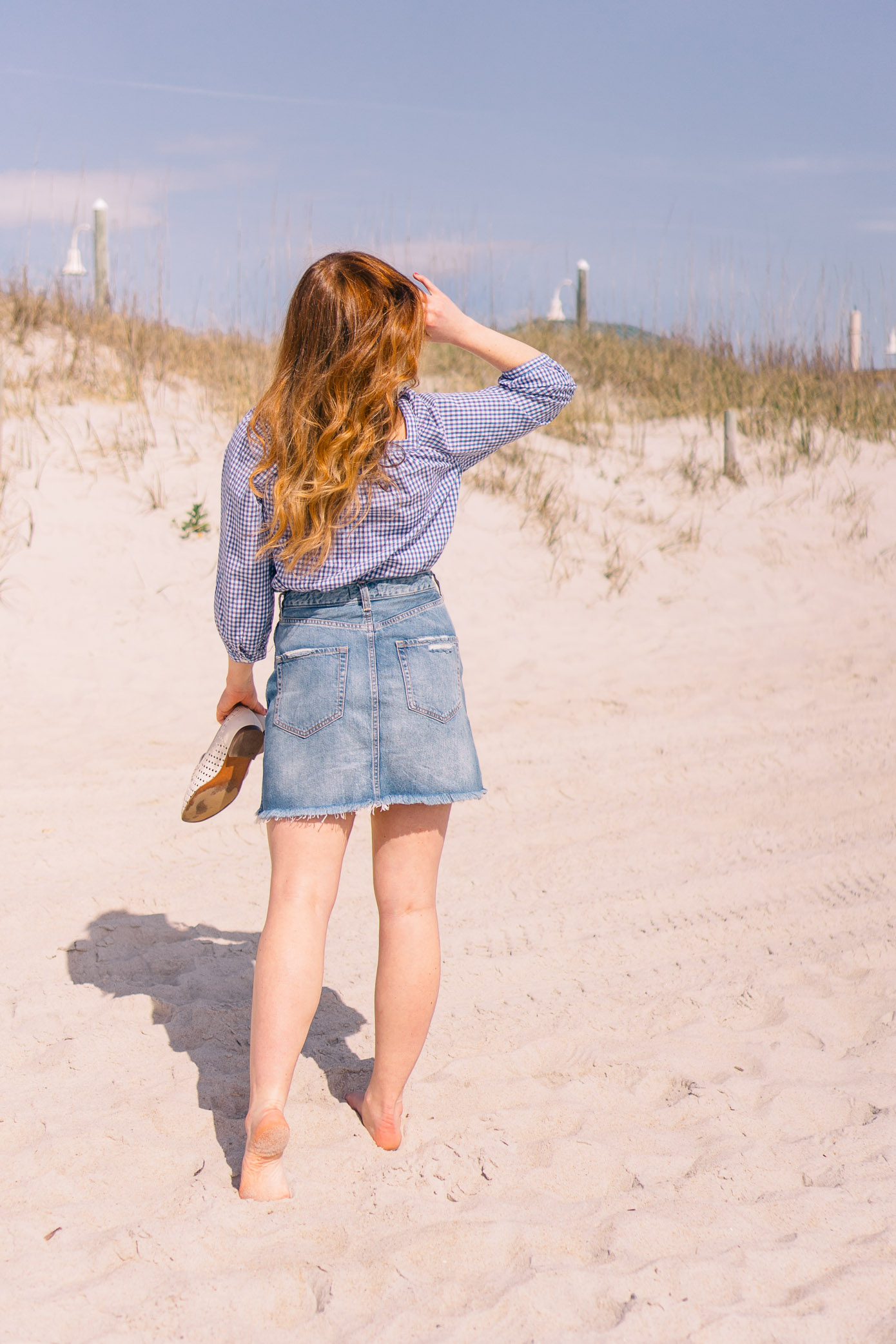 Denim Skirt under $60   How to Style a Denim Skirt this Summer   Louella Reese Life & Style Blog