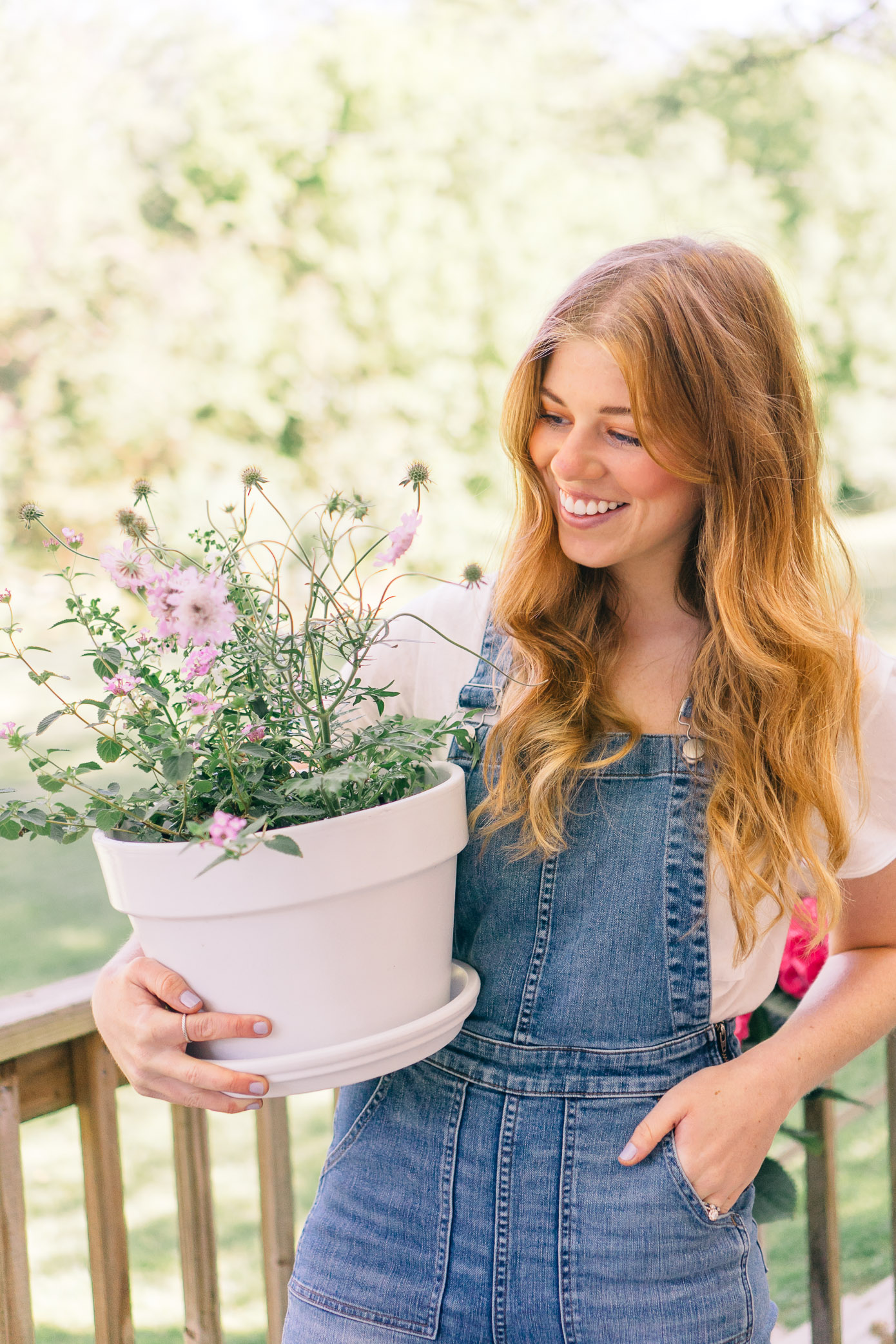 Update Your Outdoor Space with Potted Plants, Harvest Organics Soil | Louella Reese Life & Style Blog