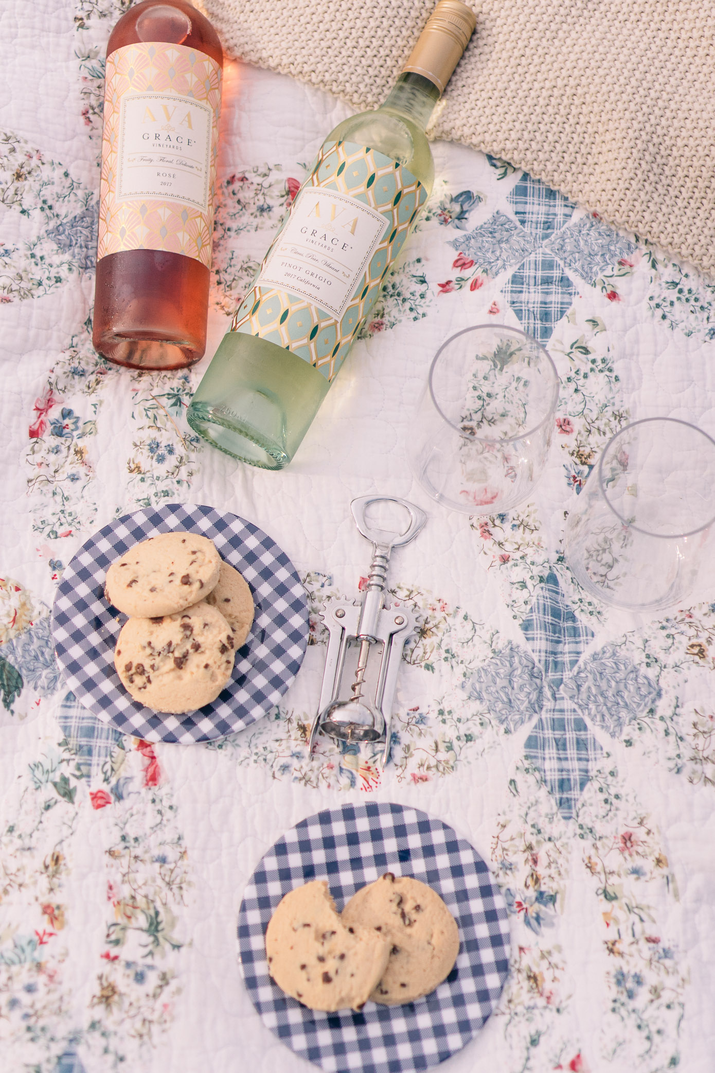 Ava Wine | Rosé Picnic on the Ranch | Louella Reese Life & Style Blog