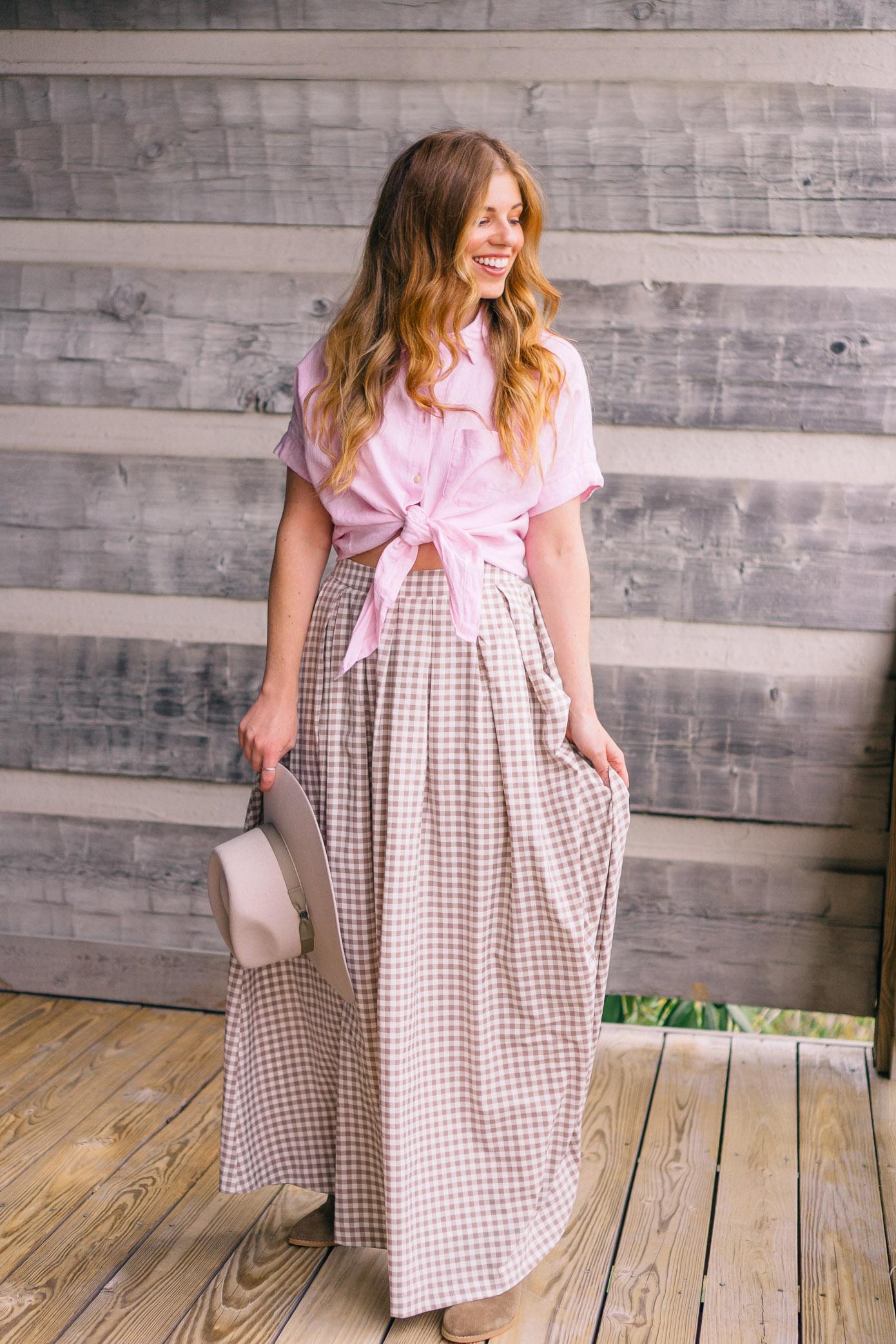 Three Skirts Styled Three Ways | Summer Capsule Wardrobe | Louella Reese Life & Style Blog