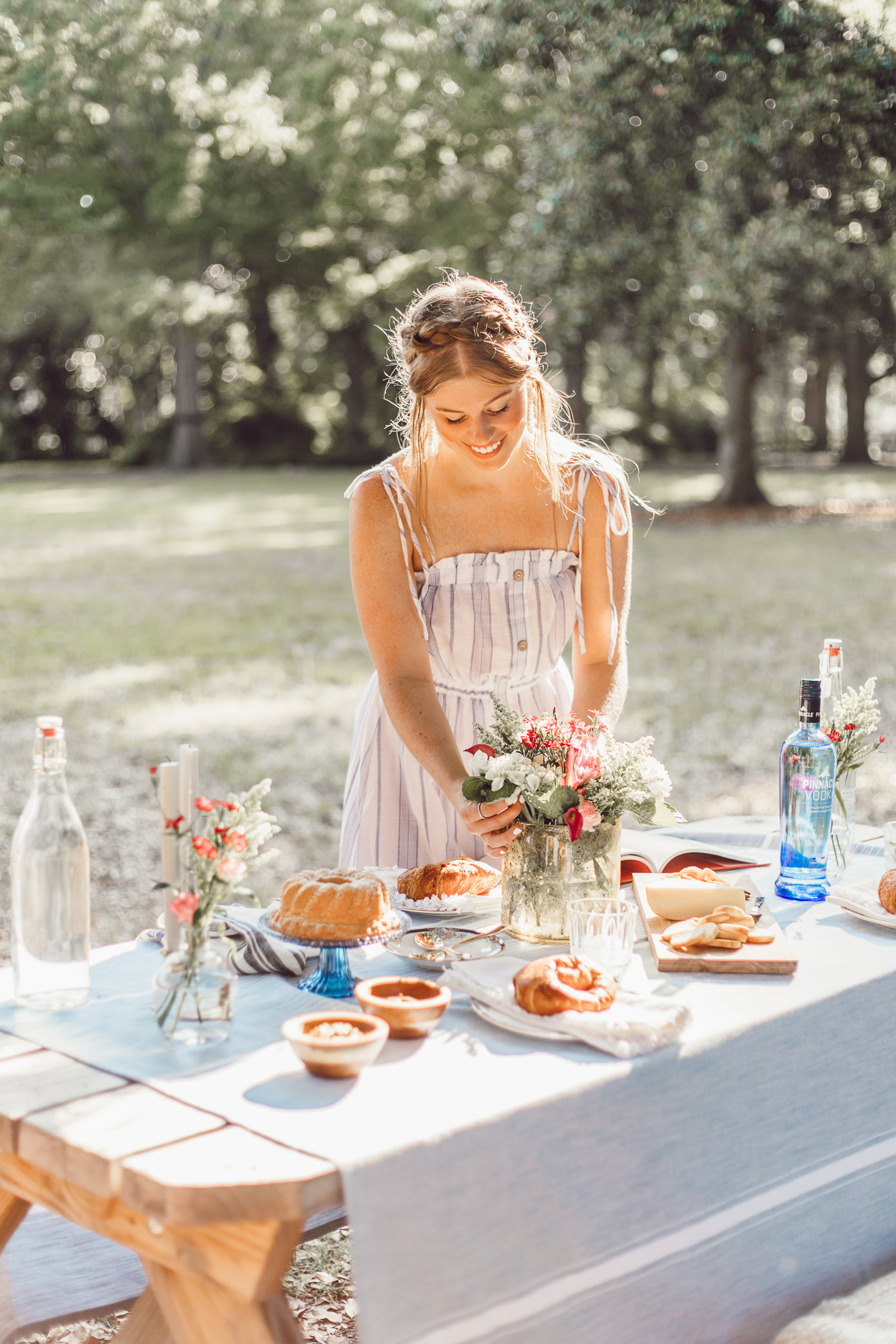 How to Host a French Inspired Picnic by popular Charlotte style blogger Louella Reese