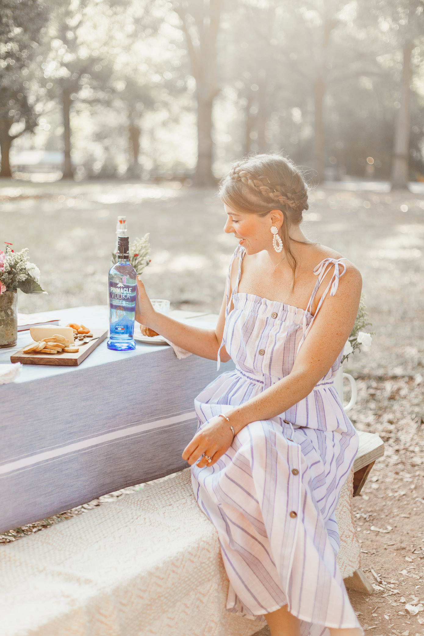 A French Inspired Picnic by popular Charlotte style blogger Louella Reese