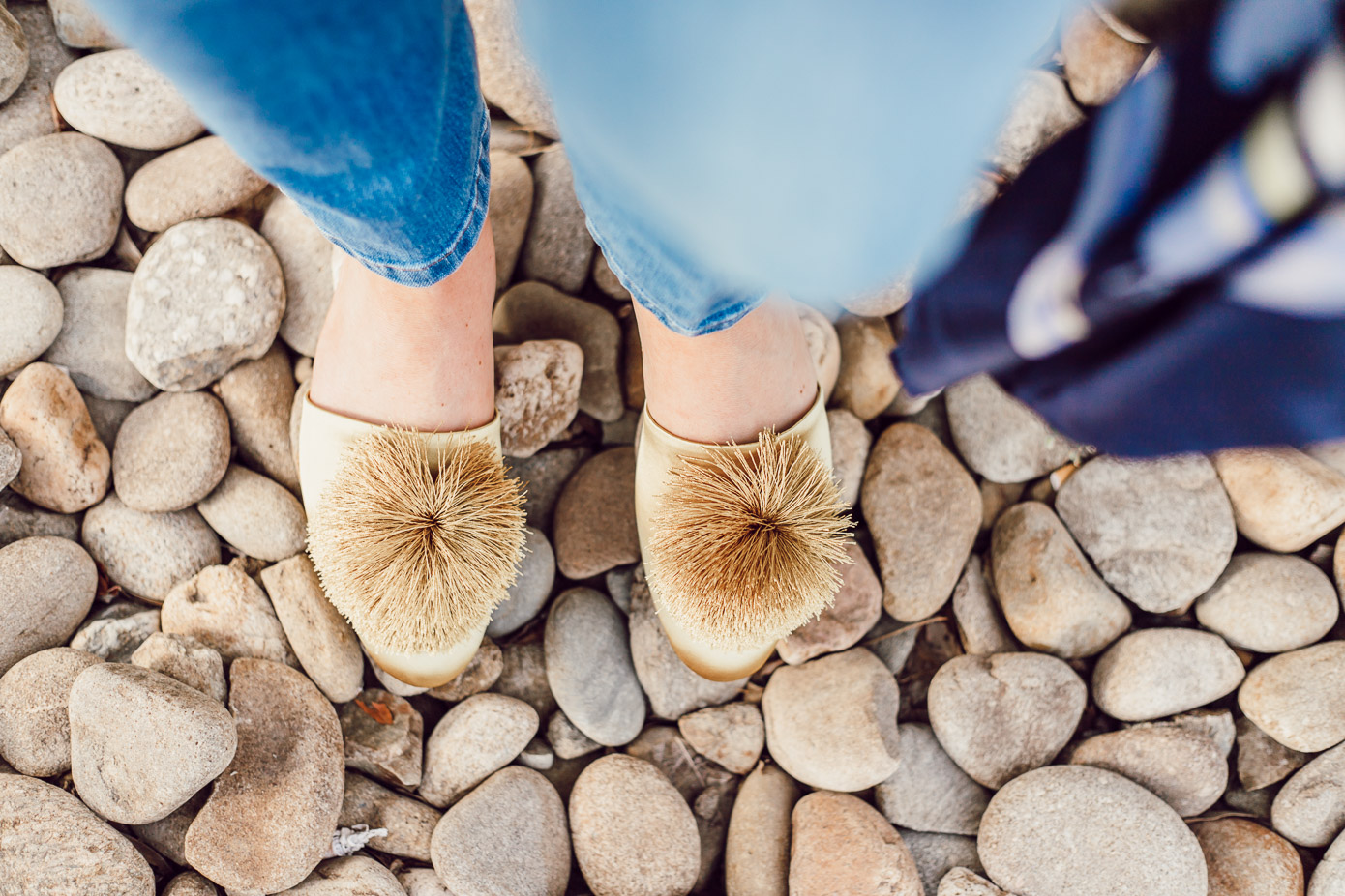 Citrine Shoes for Summer | Birdies Citrine Slippers styled on Louella Reese