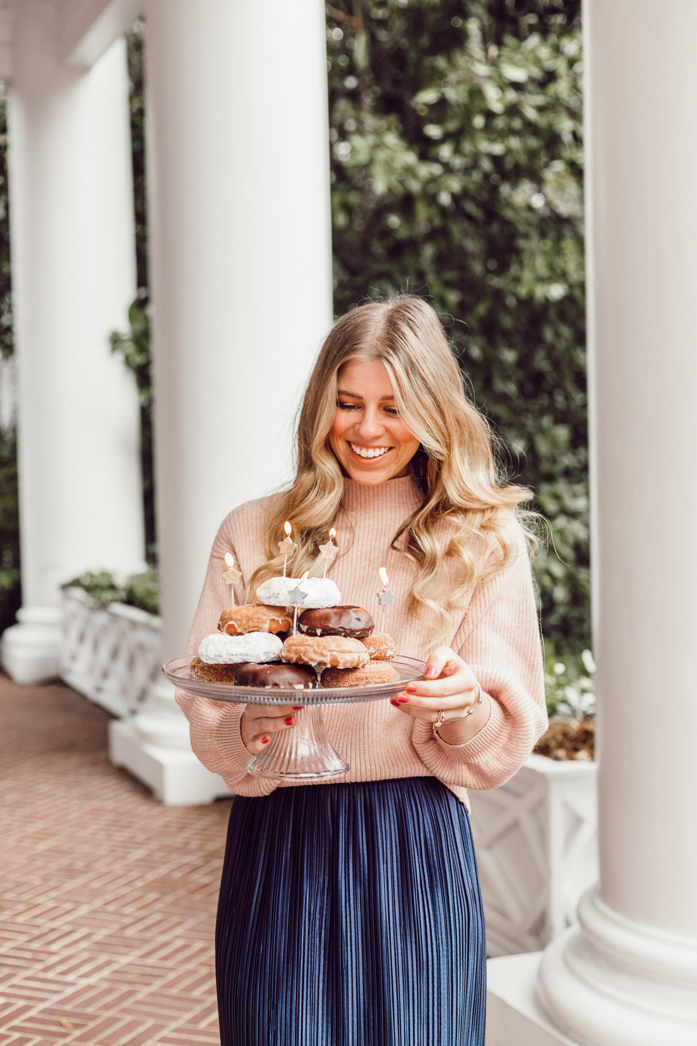 29 Life Lessons Learned featured on Louella Reese Blog for her 29th Birthday | Donut Cake