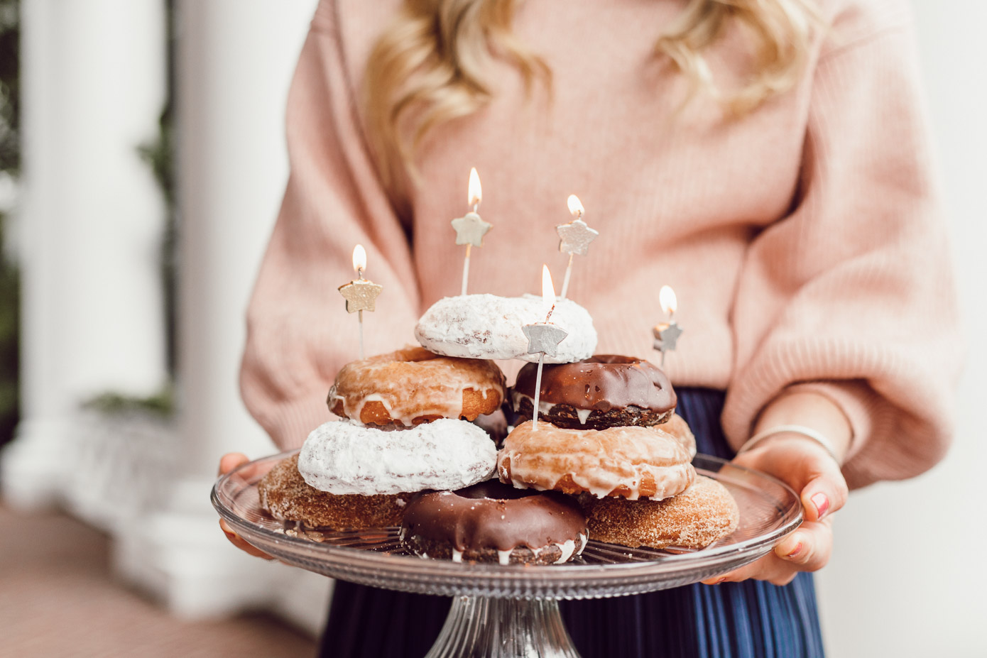 29 Life Lessons Learned featured on Louella Reese for her 29th Birthday   Old-Fashioned Cake Doughnuts Doughnut Cake