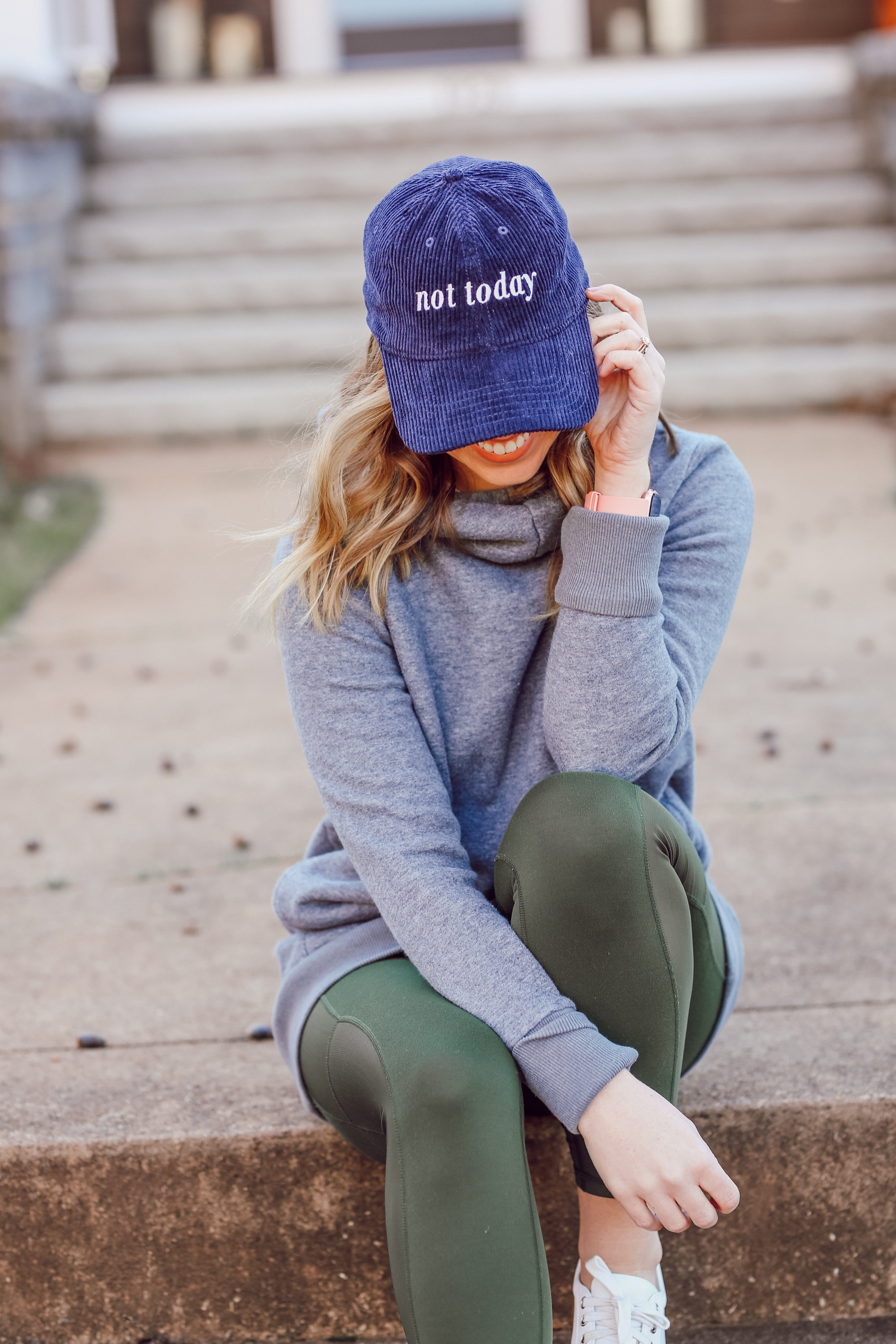 Not Today Baseball Hat, FASTer Way to Fat Loss | FWTFL Experience featured on Louella Reese