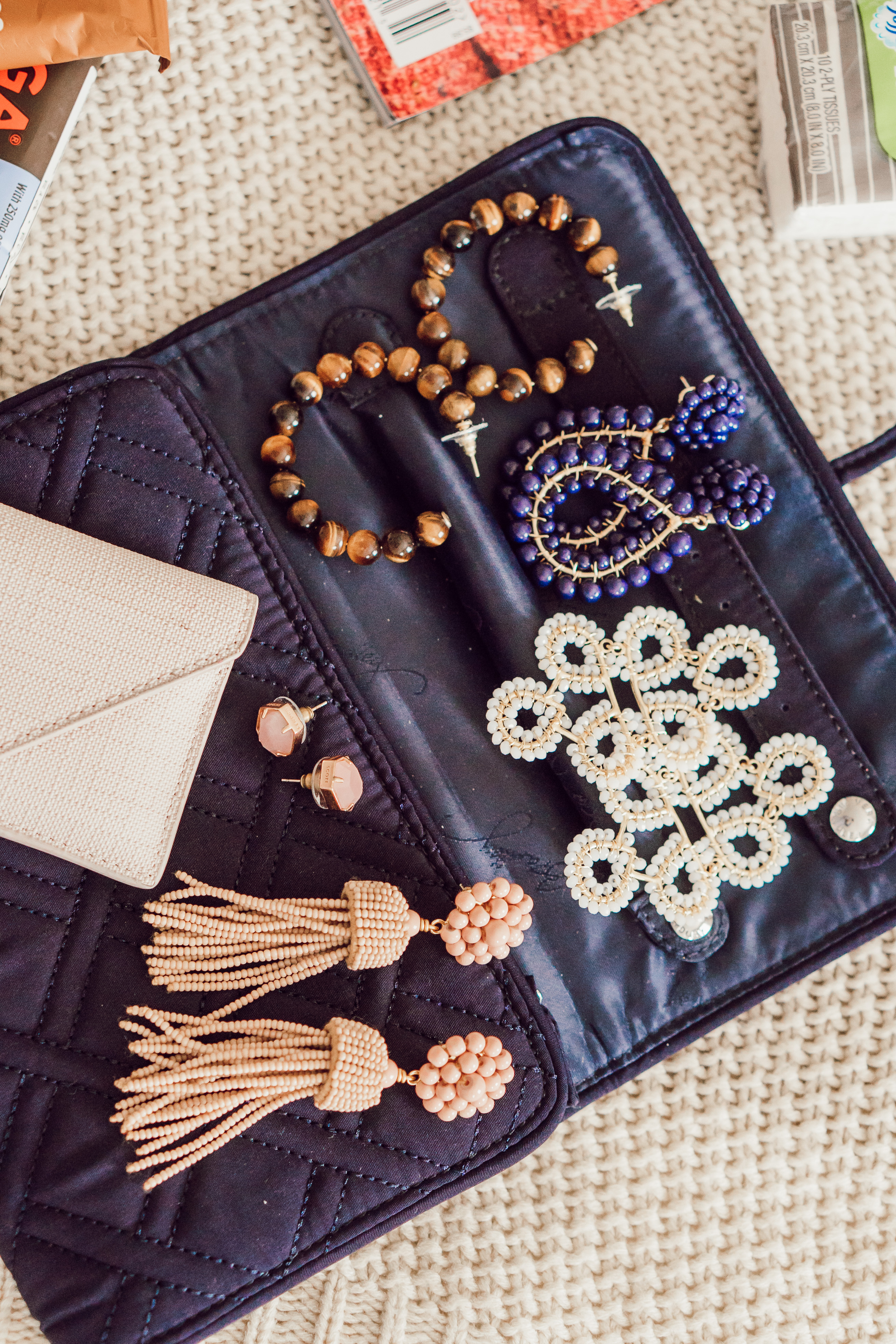 What's in my NYFW Carry On Bag - What you need to put in your carry on bag when attending NYFW featured by popular NC travel blogger, Laura Leigh of Louella Reese
