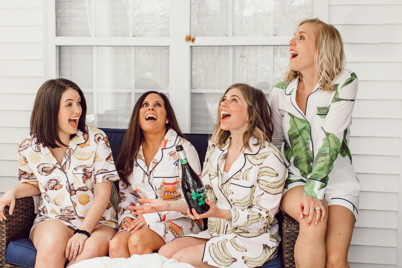 Spring Pajama Party on Louella Reese | The Importance of Girl Time
