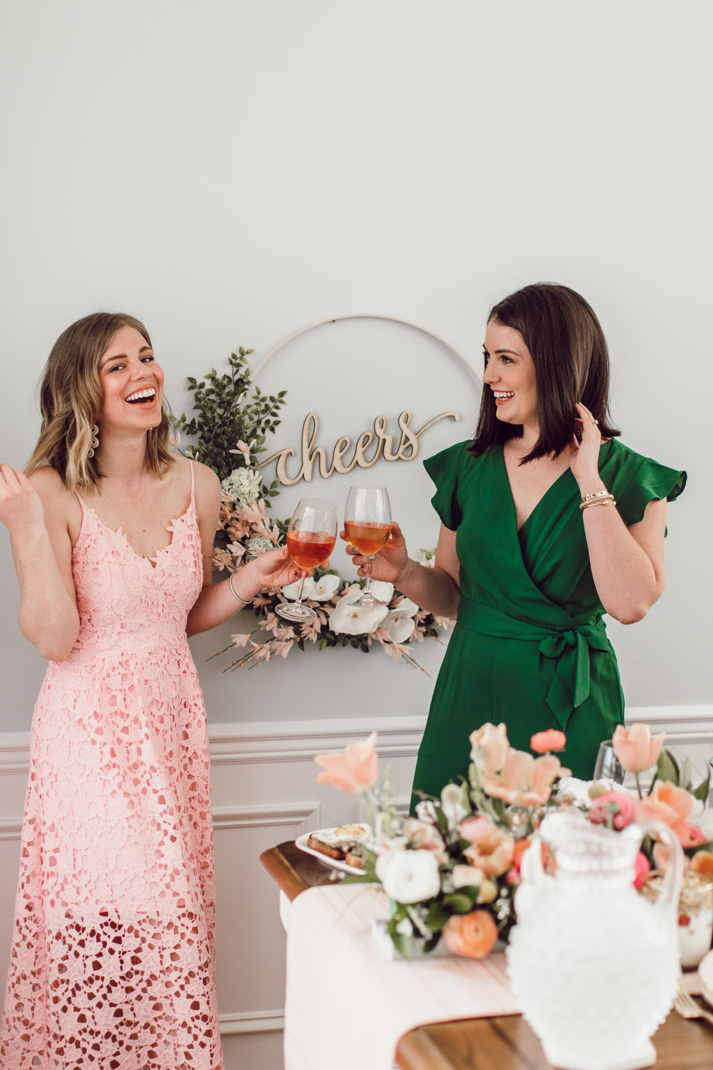 Everything you need to know to host your own Easter brunch this year including what to serve, how to style your brunch table, and what to wear | Louella Reese