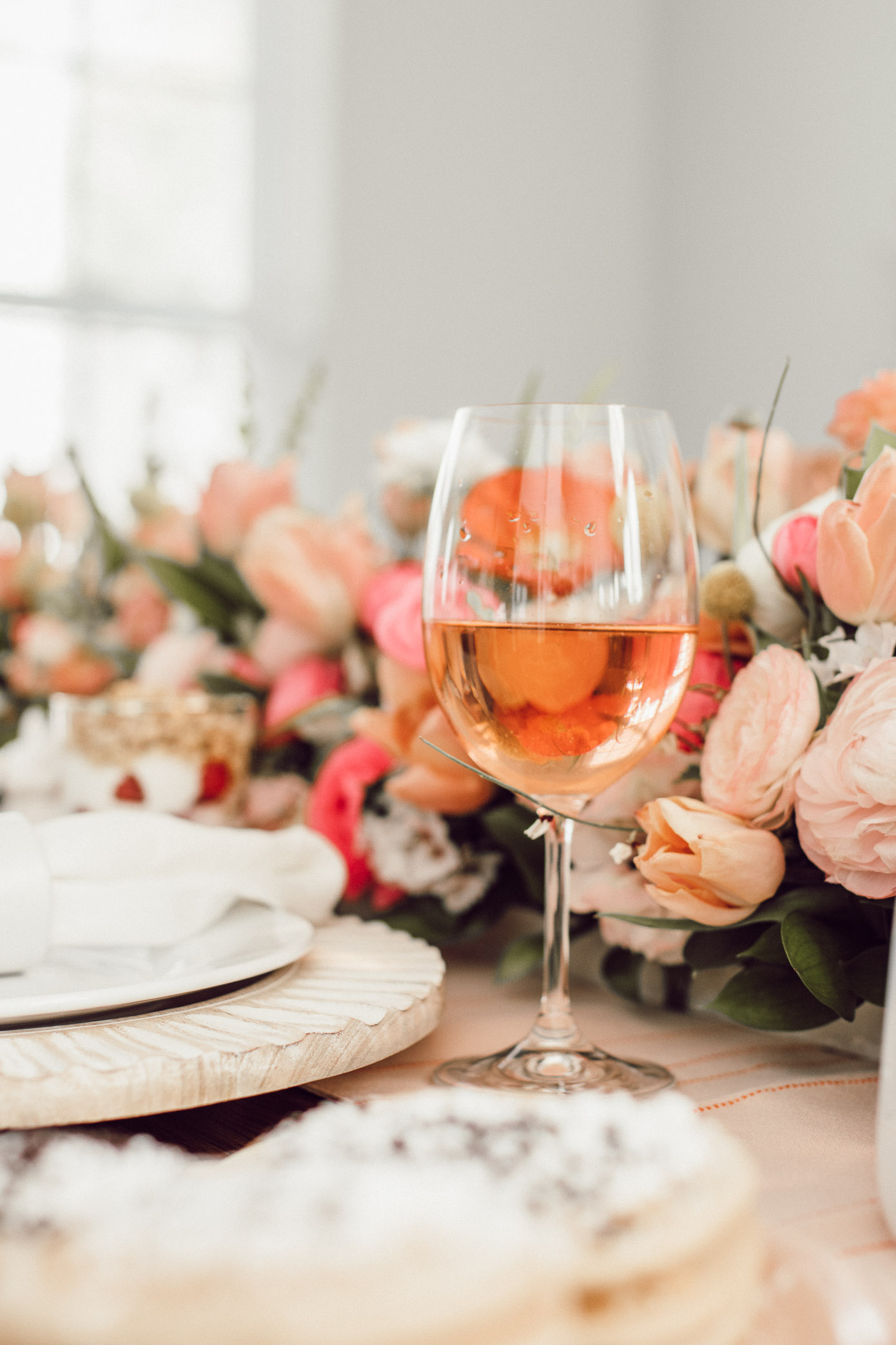 The Perfect Rosé for Spring | What Wine to Serve at a Spring Brunch | Louella Reese