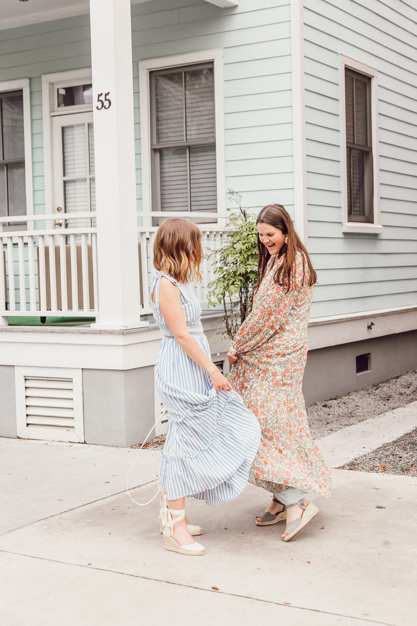 Stylish, versatile, and oh-so-comfortable, these maxi dresses are the definition of a warm-weather staple   Ft. English Factory, H&M, Soludos, Paravel   Louella Reese