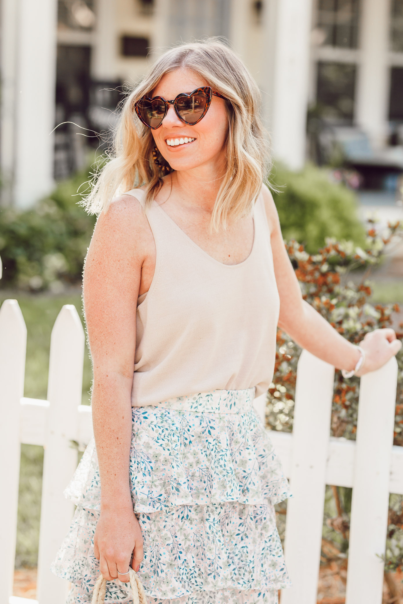 The cutest heart shaped sunglasses to complete every summer outfit | Ft. Amazon Fashion, Chicwish, Nordstrom | Louella Reese