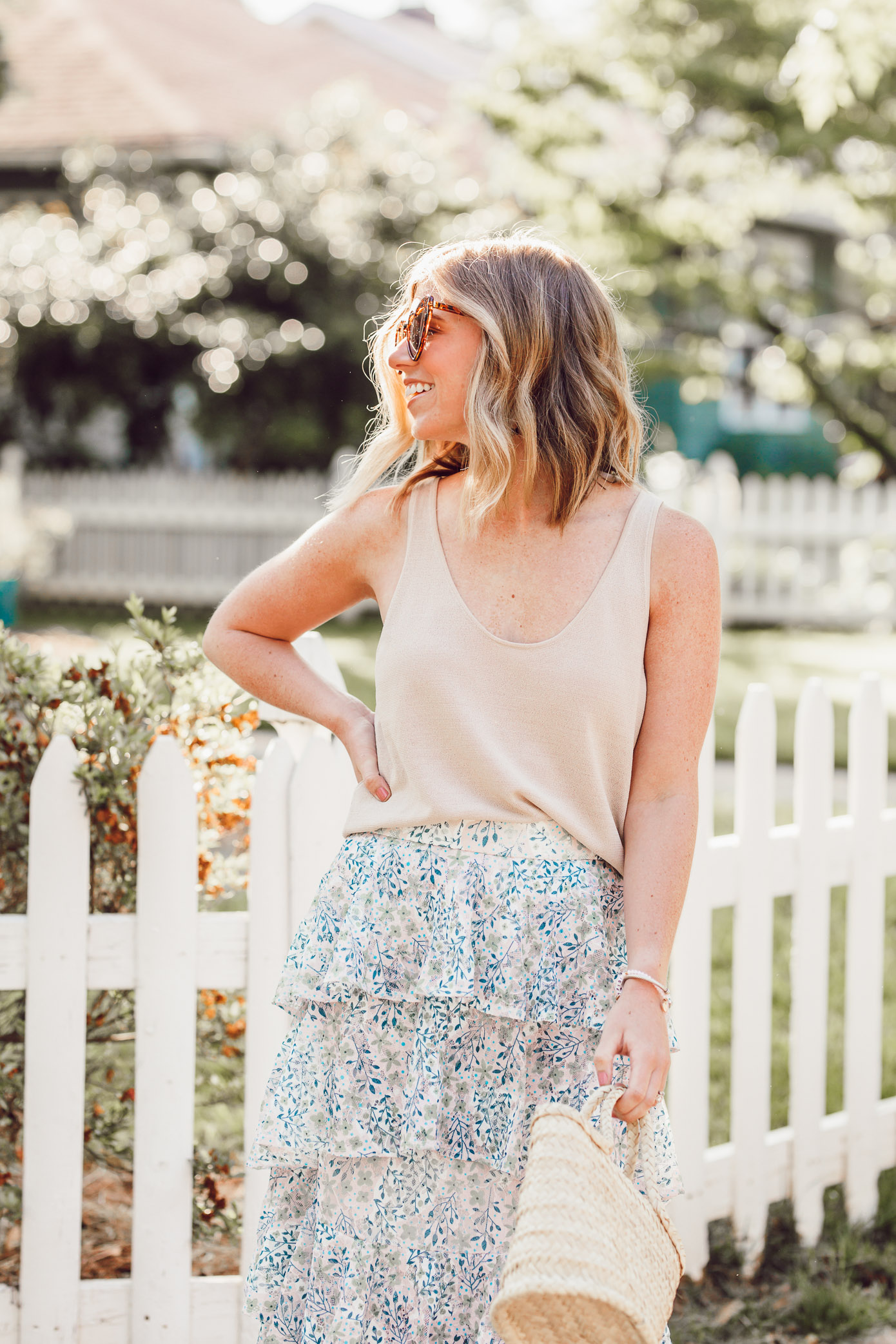 Sweater Tanks for Summer | How to Style a Sweater Tank when it's hot outside | Louella Reese
