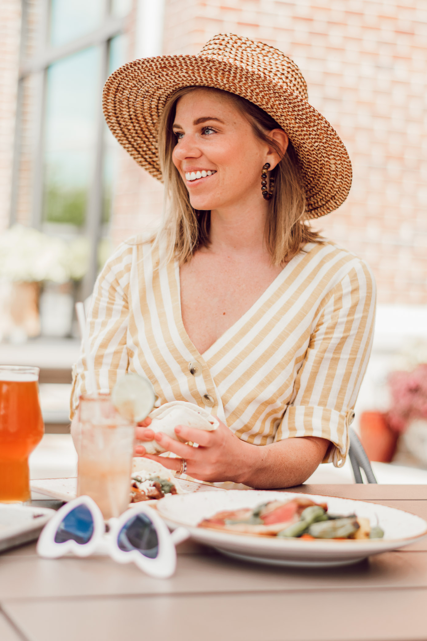 The Best Patios in Charlotte NC | Where to Dine Outside in Charlotte, Legion Brewing Southpark | Louella Reese