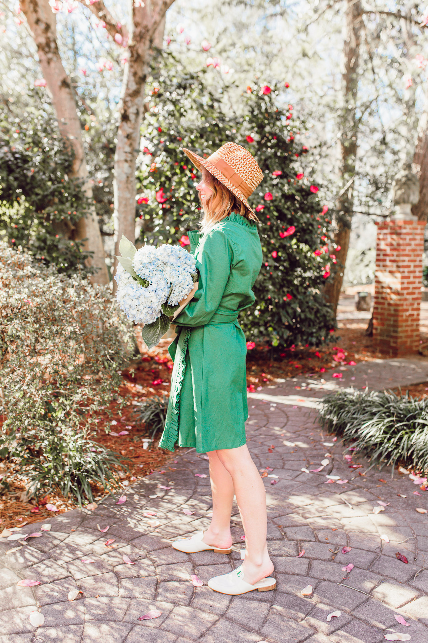 Laura Leigh of Louella Reese shares her favorite spring purchases of spring 2019 including the best straw hat under $50