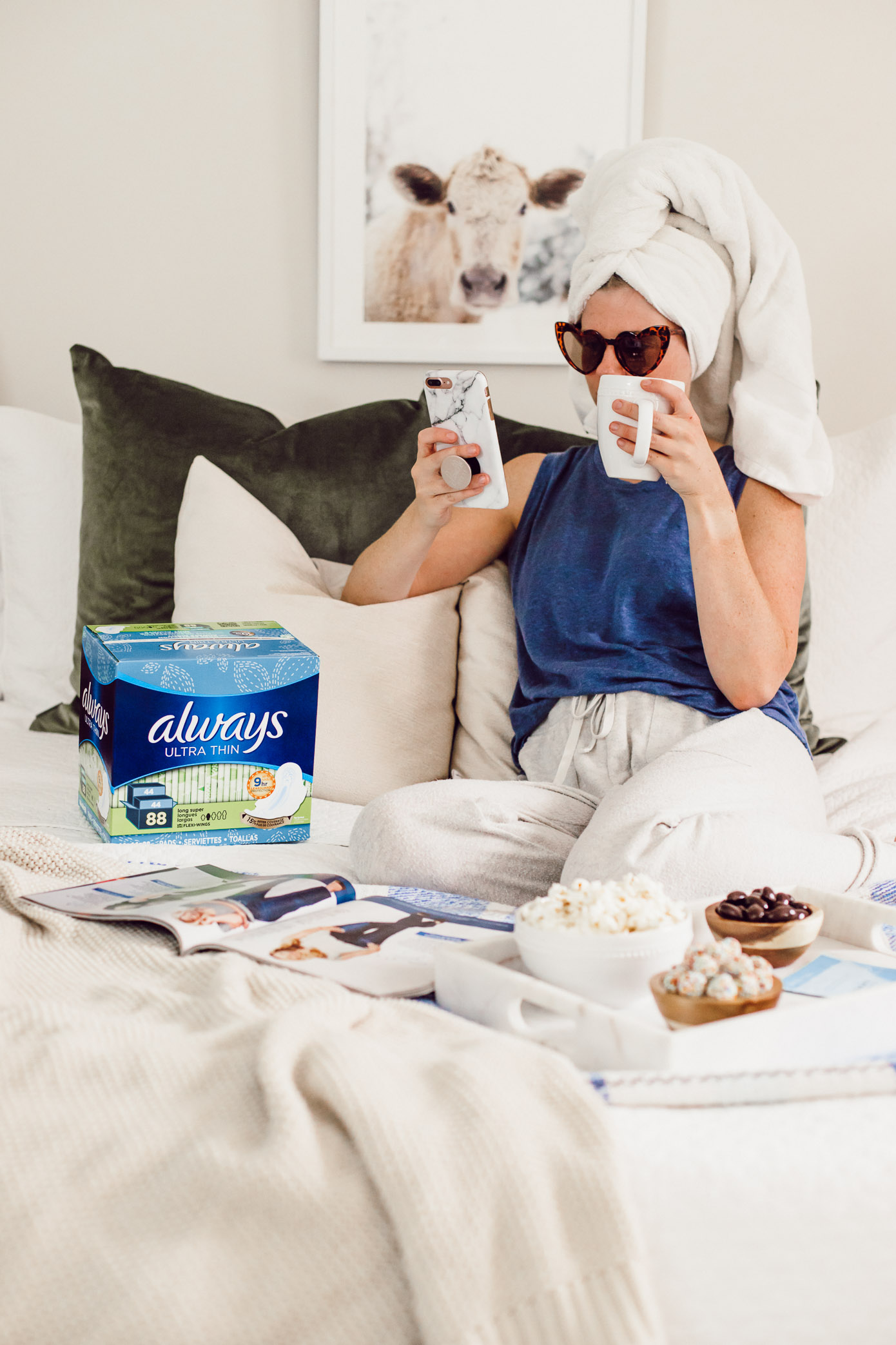 3 Ways to Make That Time of the Month More Comfortable | Louella Reese