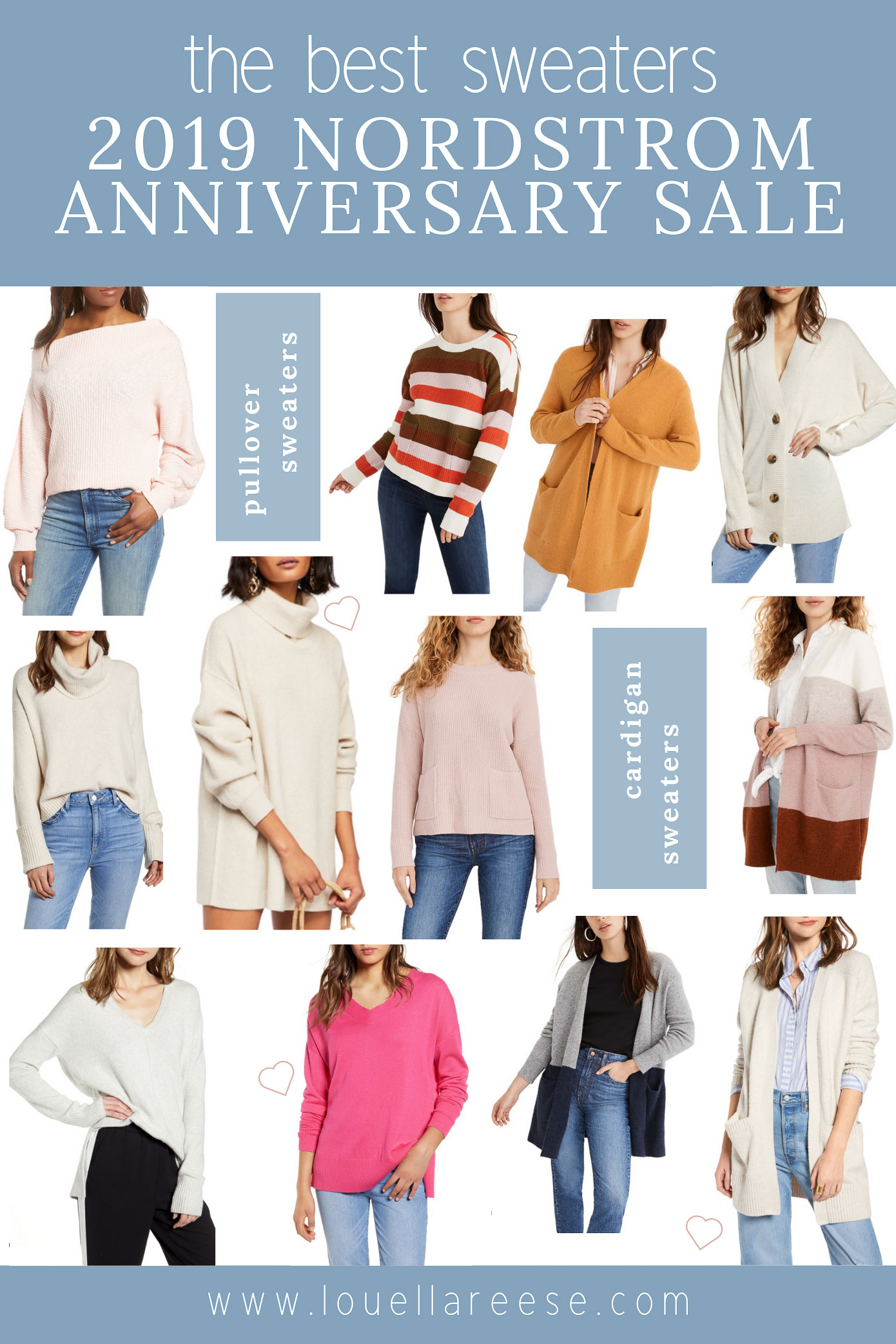2019 Nordstrom Anniversary Sale Best Sweaters | The BEST Sweaters from the 2019 Nordstrom Anniversary Sale | Louella Reese