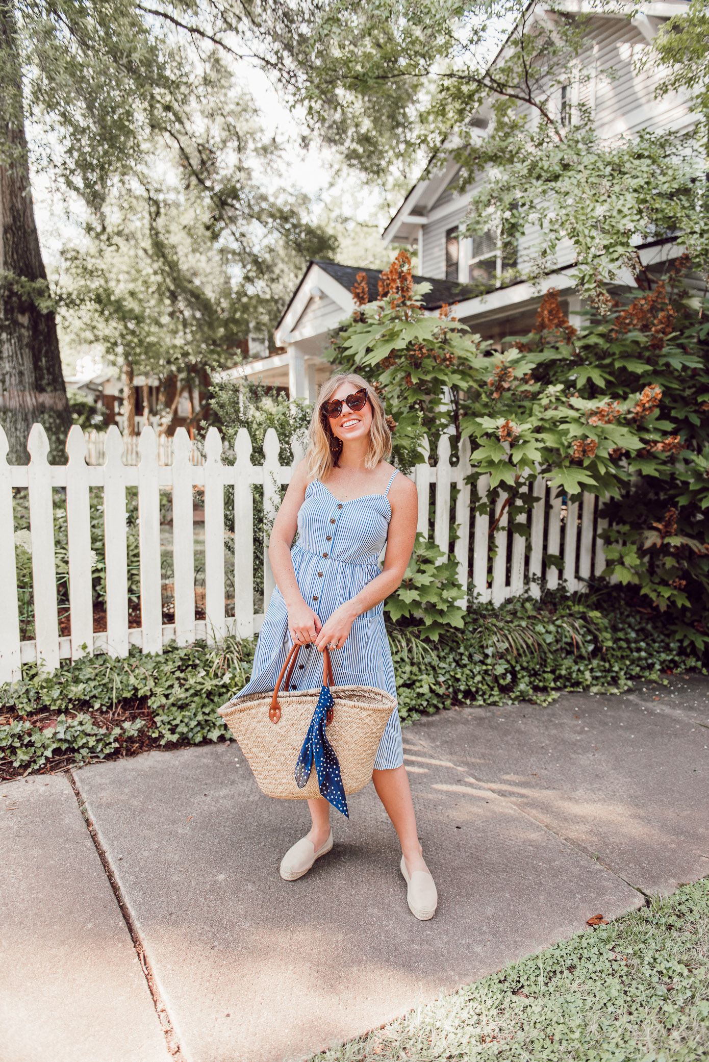 The Perfect Summer Midi Dress under $25 that comes in 25 different colors/variations | Louella Reese