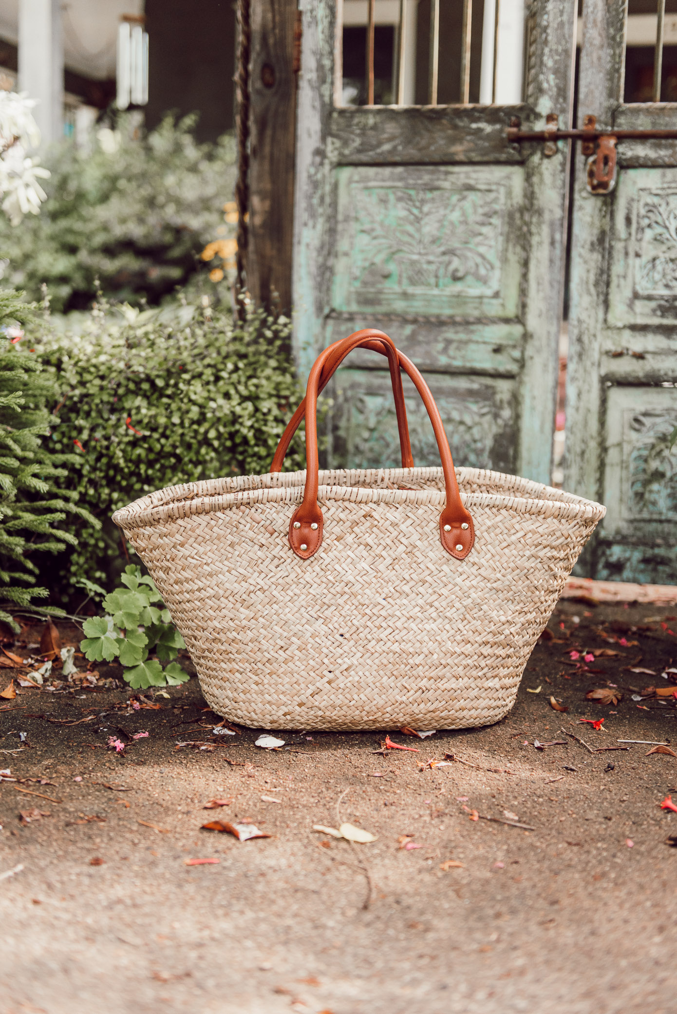 The perfect straw tote for every occasion this summer | Louella Reese