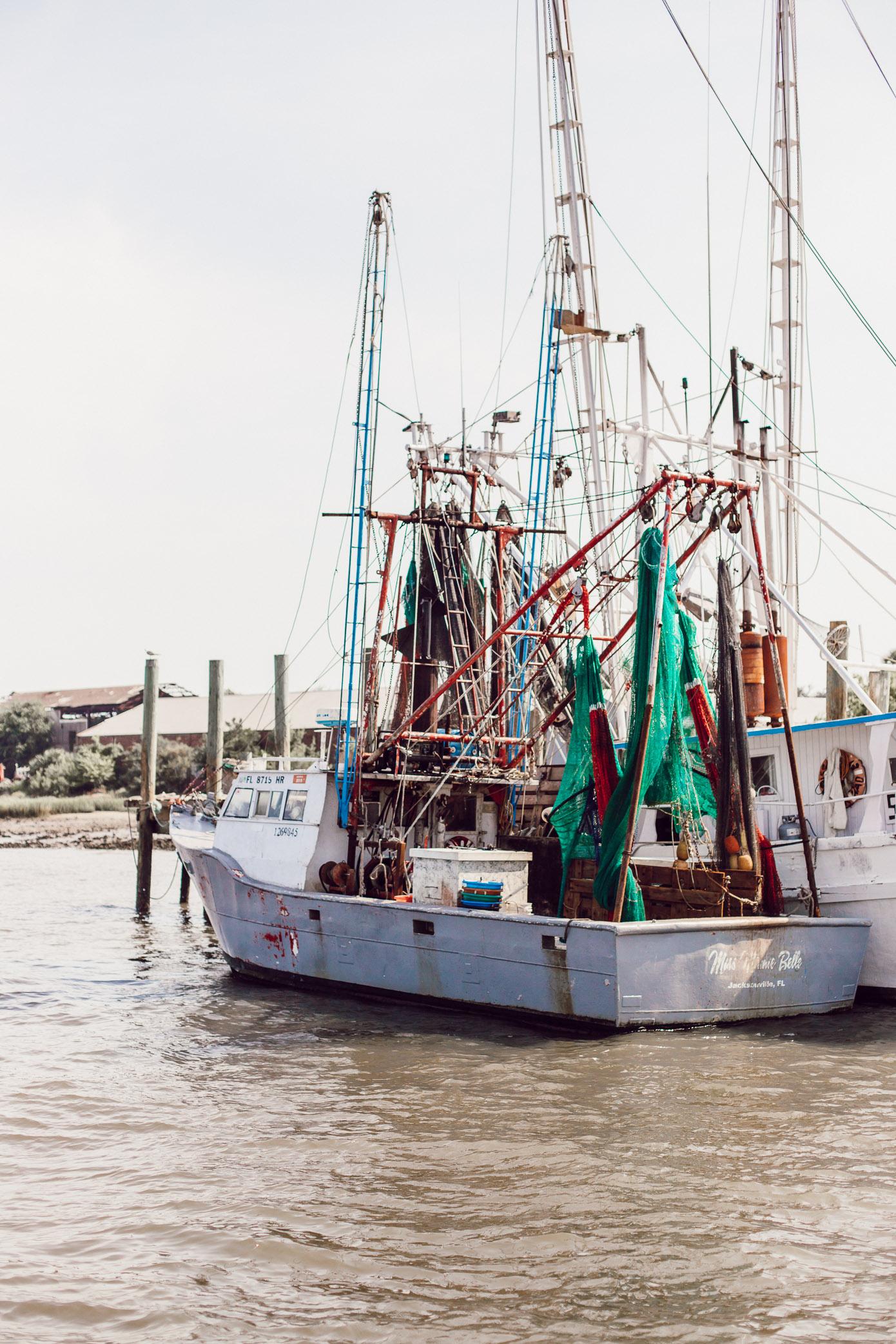 The Shrimp Days of Summer Amelia Island | Louella Reese