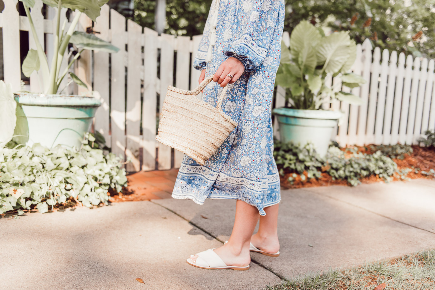 The Perfect Mini Straw Tote for Summer under $50 | Louella Reese