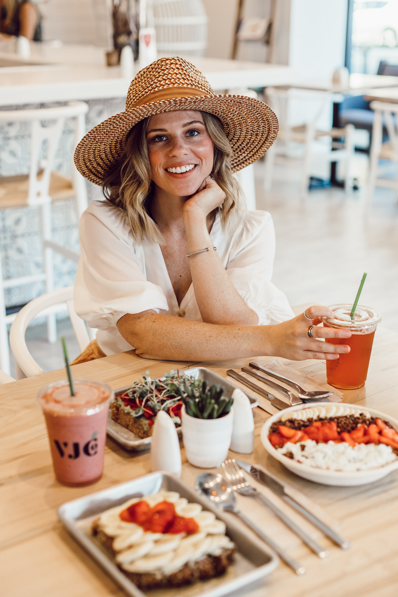 Where to Eat in Winston-Salem NC | Village Juice Company | Louella Reese