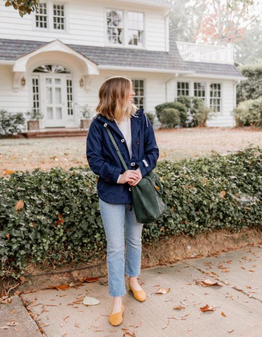 Fall Rain Jacket | The Perfect Medium Weight Rain Jacket | Louella Reese