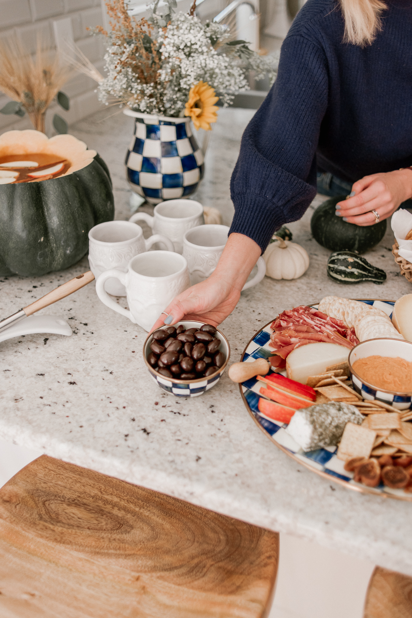 Fall Appetizers | Fall Entertaining with MacKenzie Childs | Louella Reese