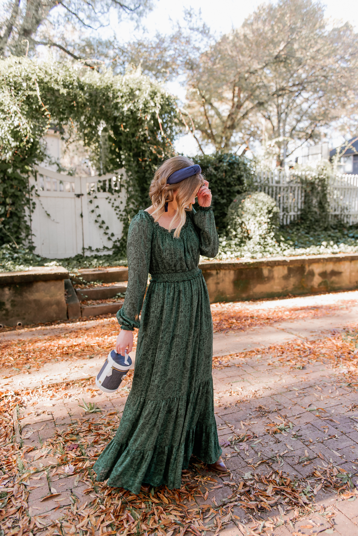 How to Style a Holiday Dress in a Fresh Way | Feminine Holiday Dresses | Louella Reese