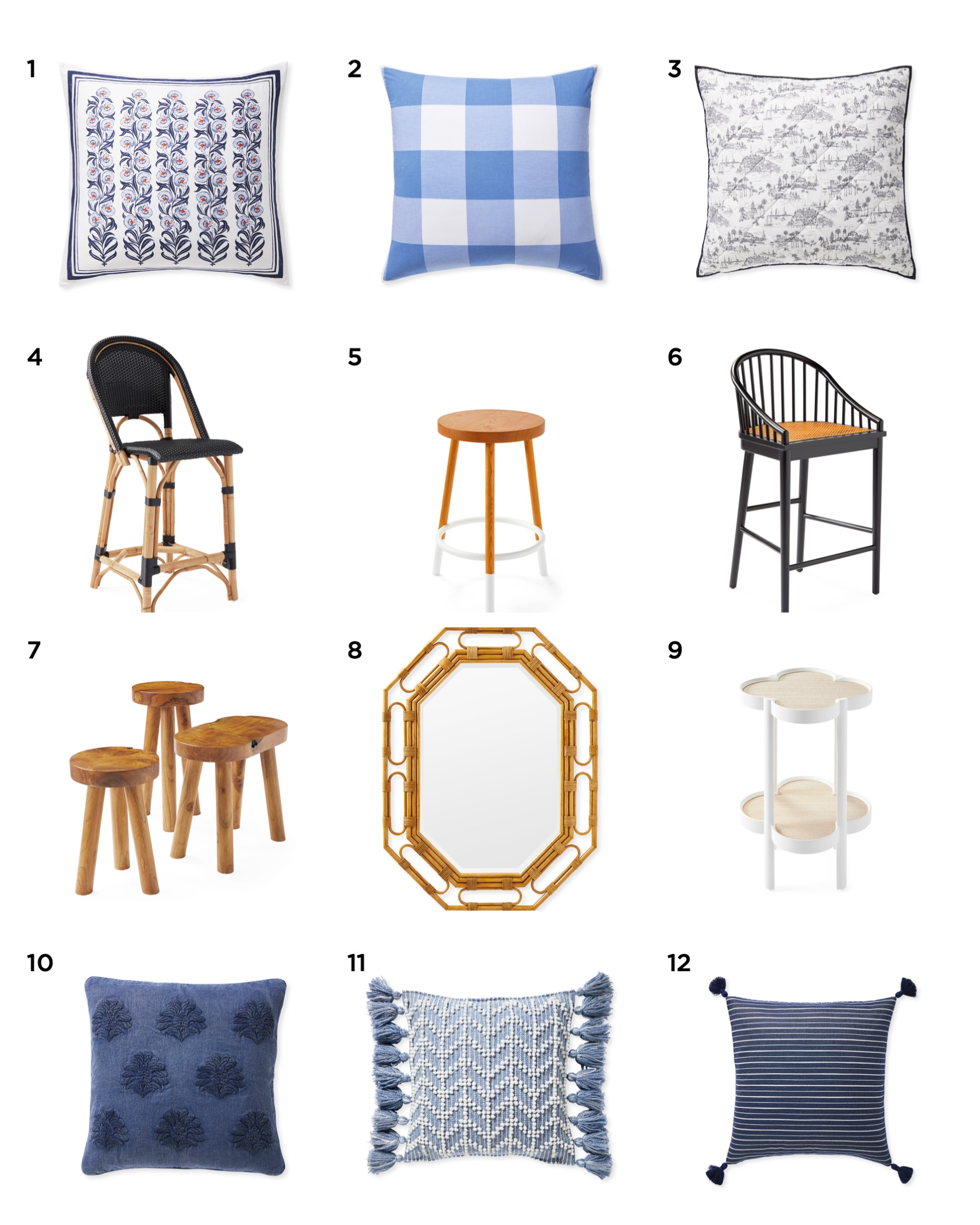 Serena & Lily Spring Arrivals | Refreshing Your Home for the New Year | Louella Reese