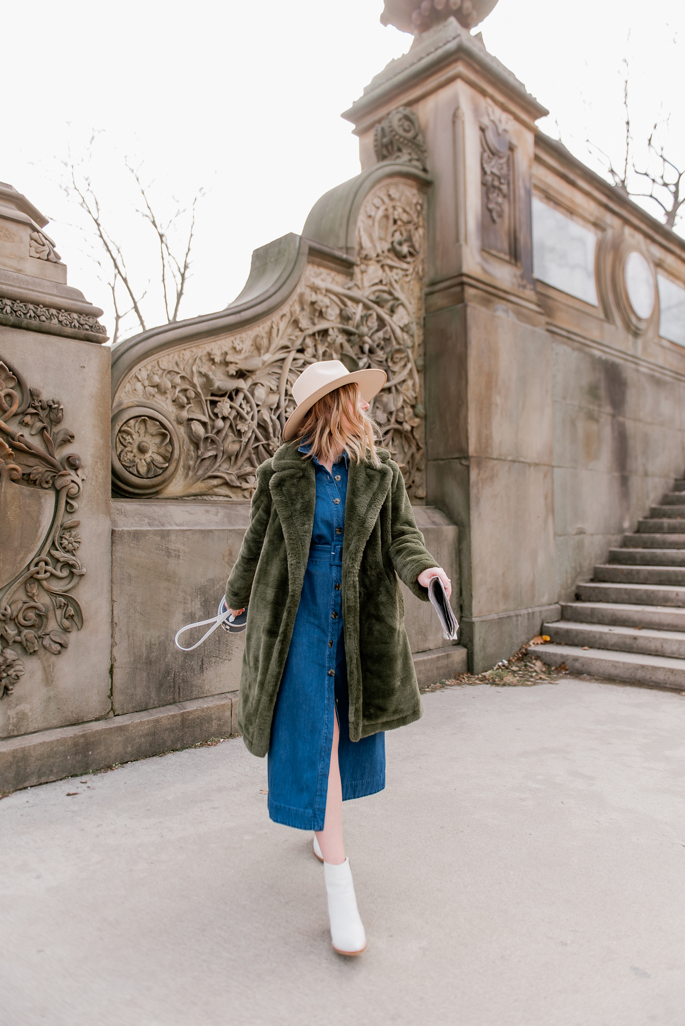 The Best Green Faux Fur Coats under $200 - Louella Reese