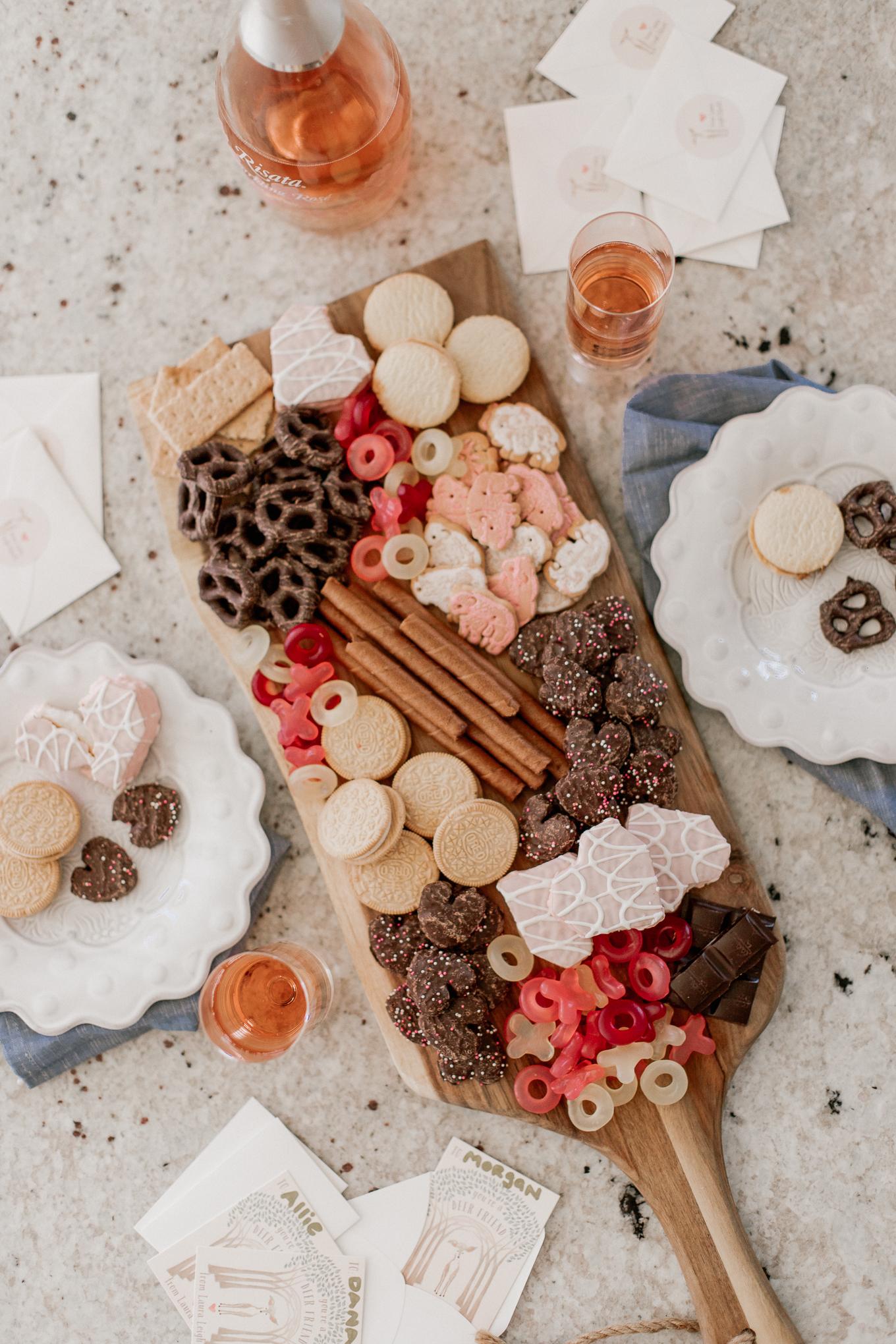 The Ultimate Valentine's Day Dessert Charcuterie Board | Louella Reese