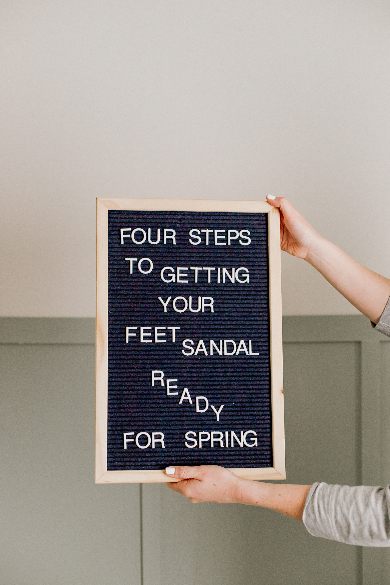 Four Steps to Sandal Ready Feet for Spring   Louella Reese