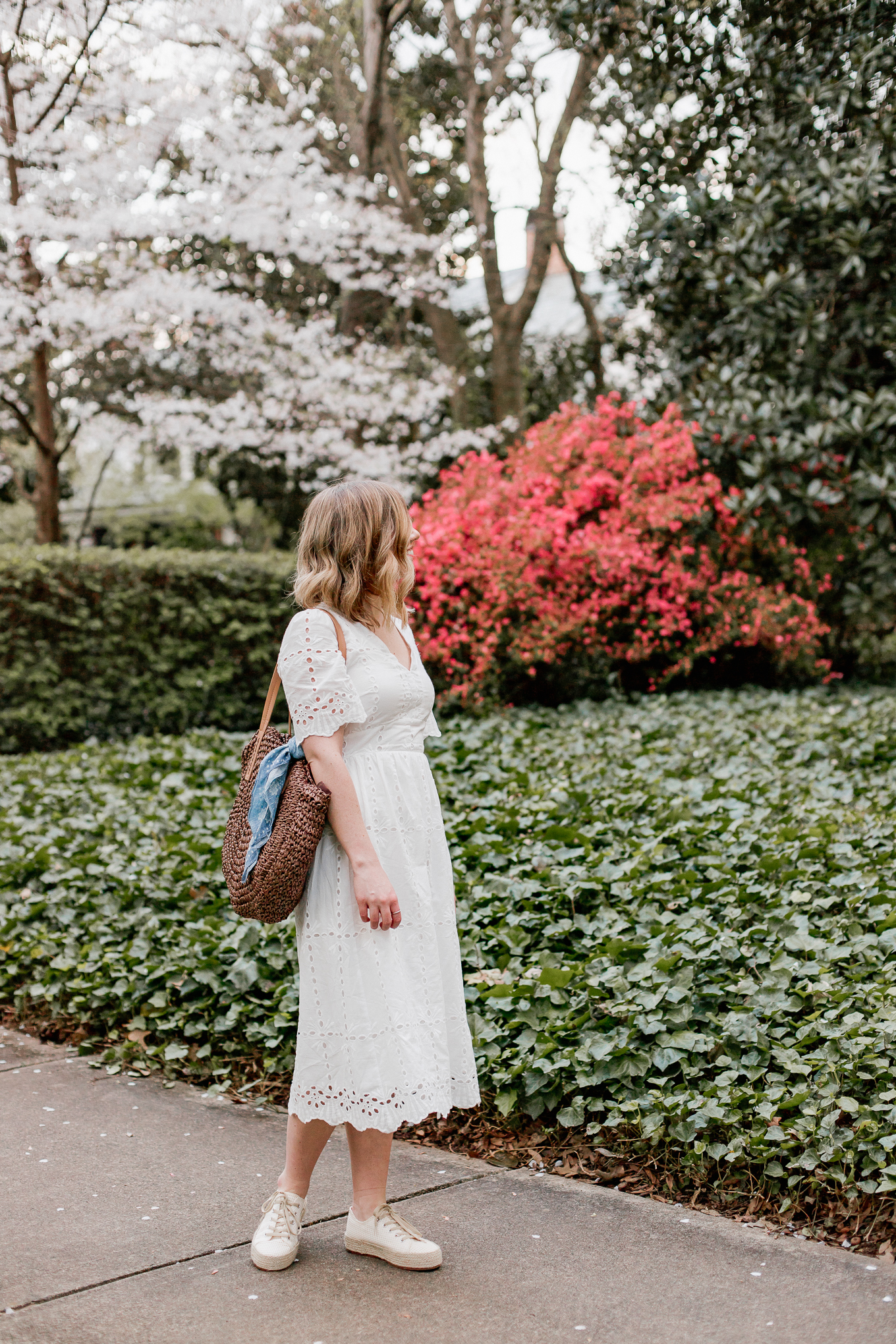 Affordable Spring Dresses | How to Casually Style a LWD | Louella Reese