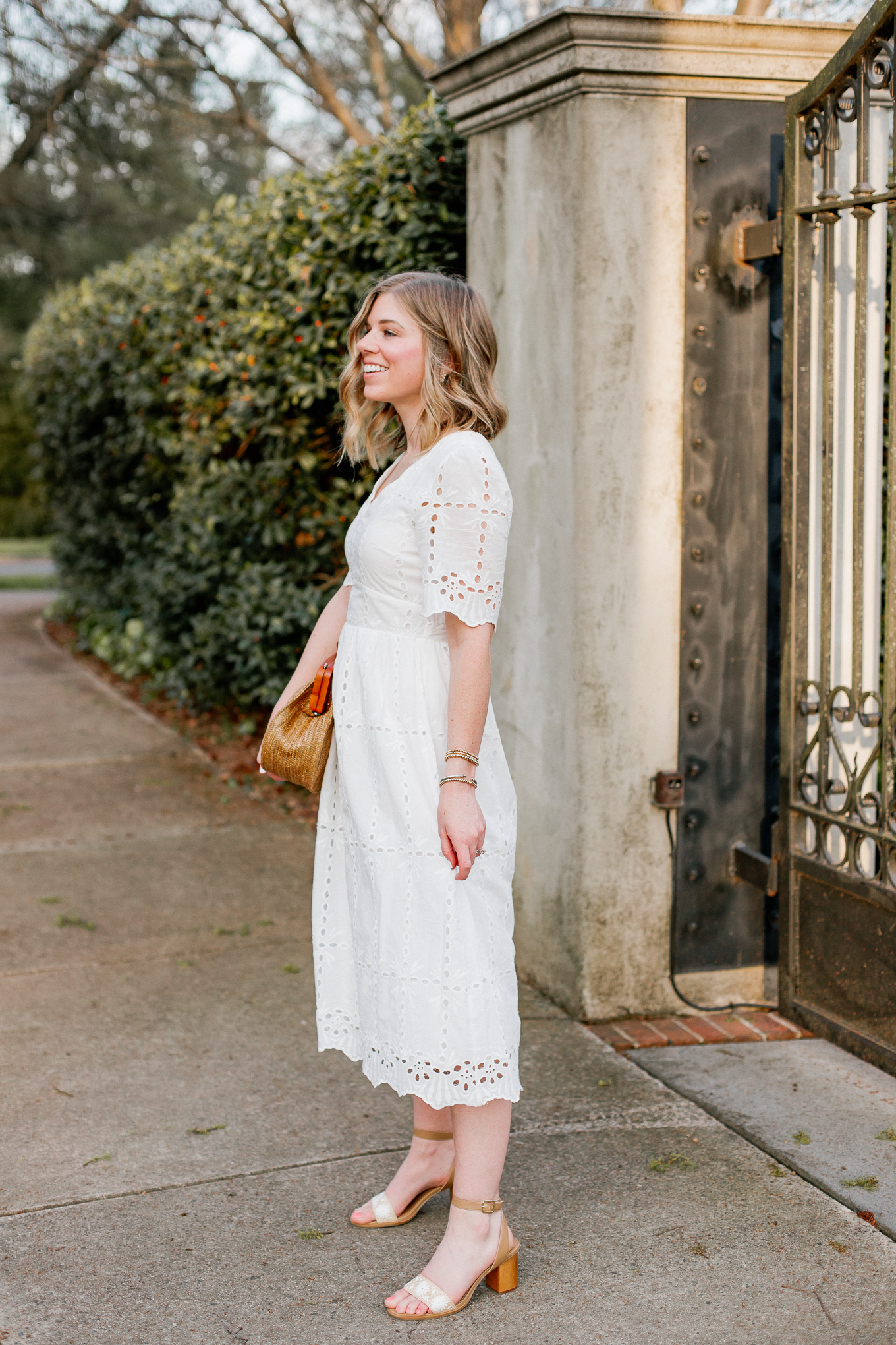 LWD Styling: How to Style a LWD for Spring Two Ways   Louella Reese