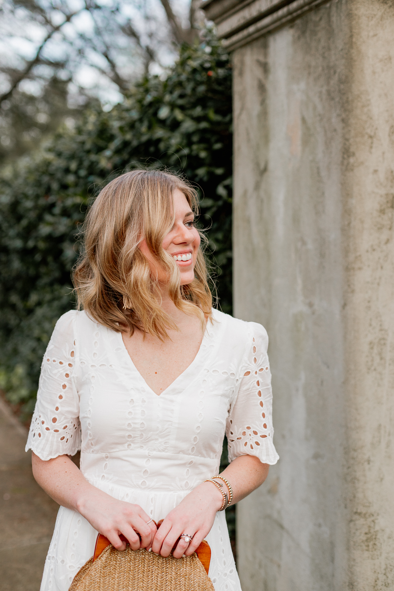 Eyelet LWD | Affordable Spring Dresses | Louella Reese