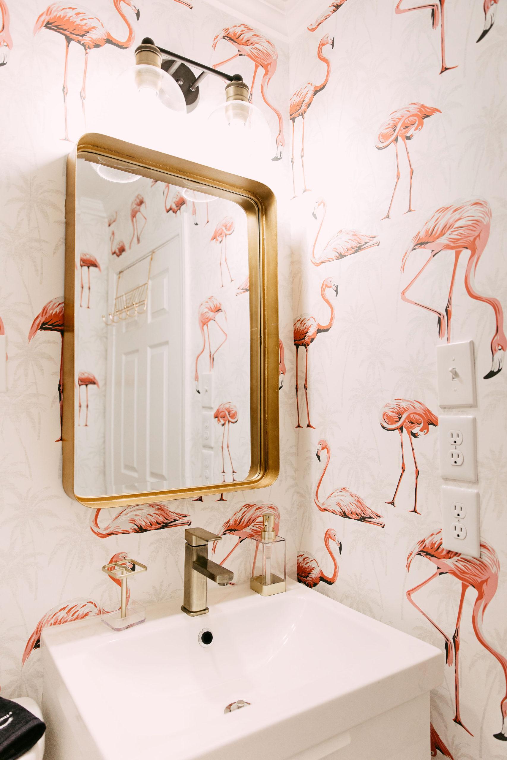 Instagram-worthy AirBNB properties to visit   Pink Flamingo Wallpaper   Louella Reese