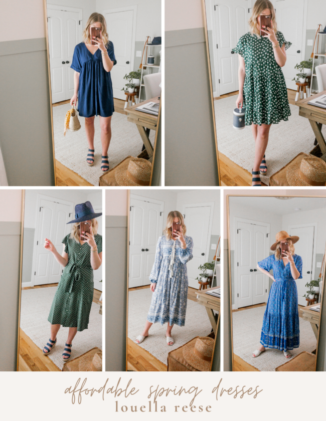 Affordable Dresses for Spring & Summer: Under $30 | Louella Reese