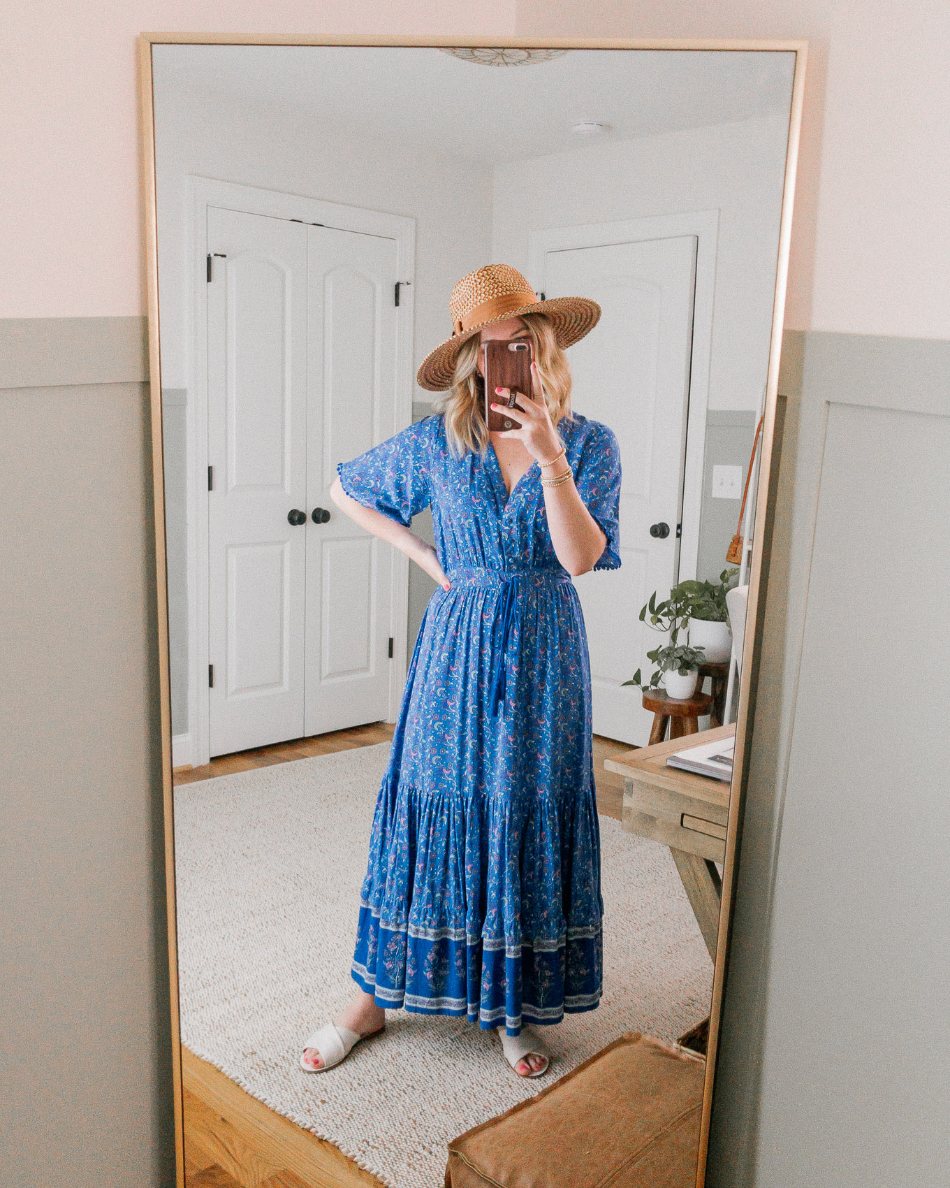The MOST Flattering, Affordable Maxi Dress for Spring and Summer | Louella Reese