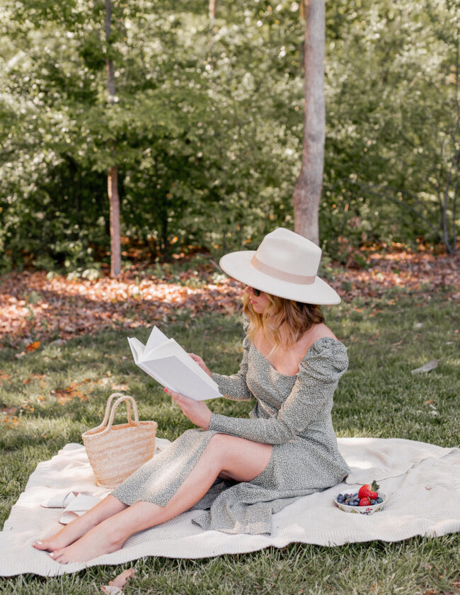 Louella Reese April 2020 Recap | Spring Picnic, Spring Maxi Dress